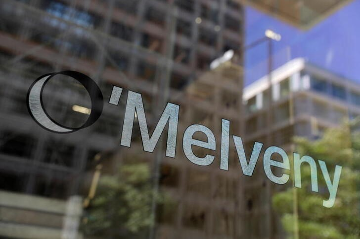 Signage is seen outside of the law firm O'Melveny & Myers at their legal offices in Washington, D.C., U.S., May 10, 2021. REUTERS/Andrew Kelly
