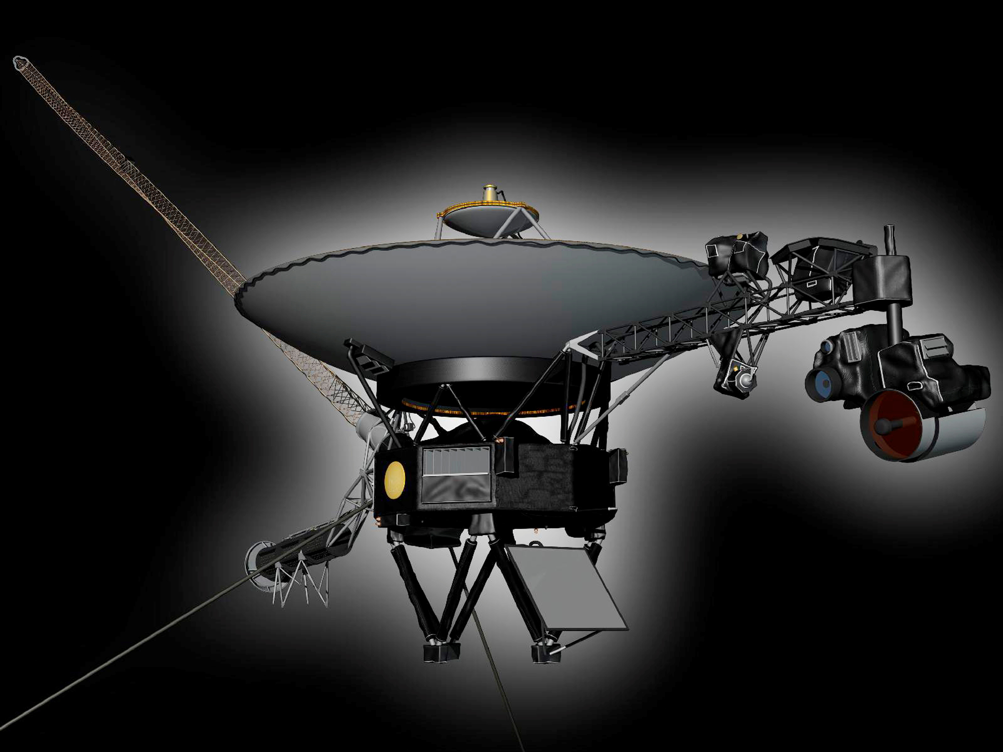 An undated artist's concept shows NASA's Voyager 1 spacecraft, the first human-made object to venture into interstellar space. REUTERS/NASA/JPL-Caltech/Handout via Reuters