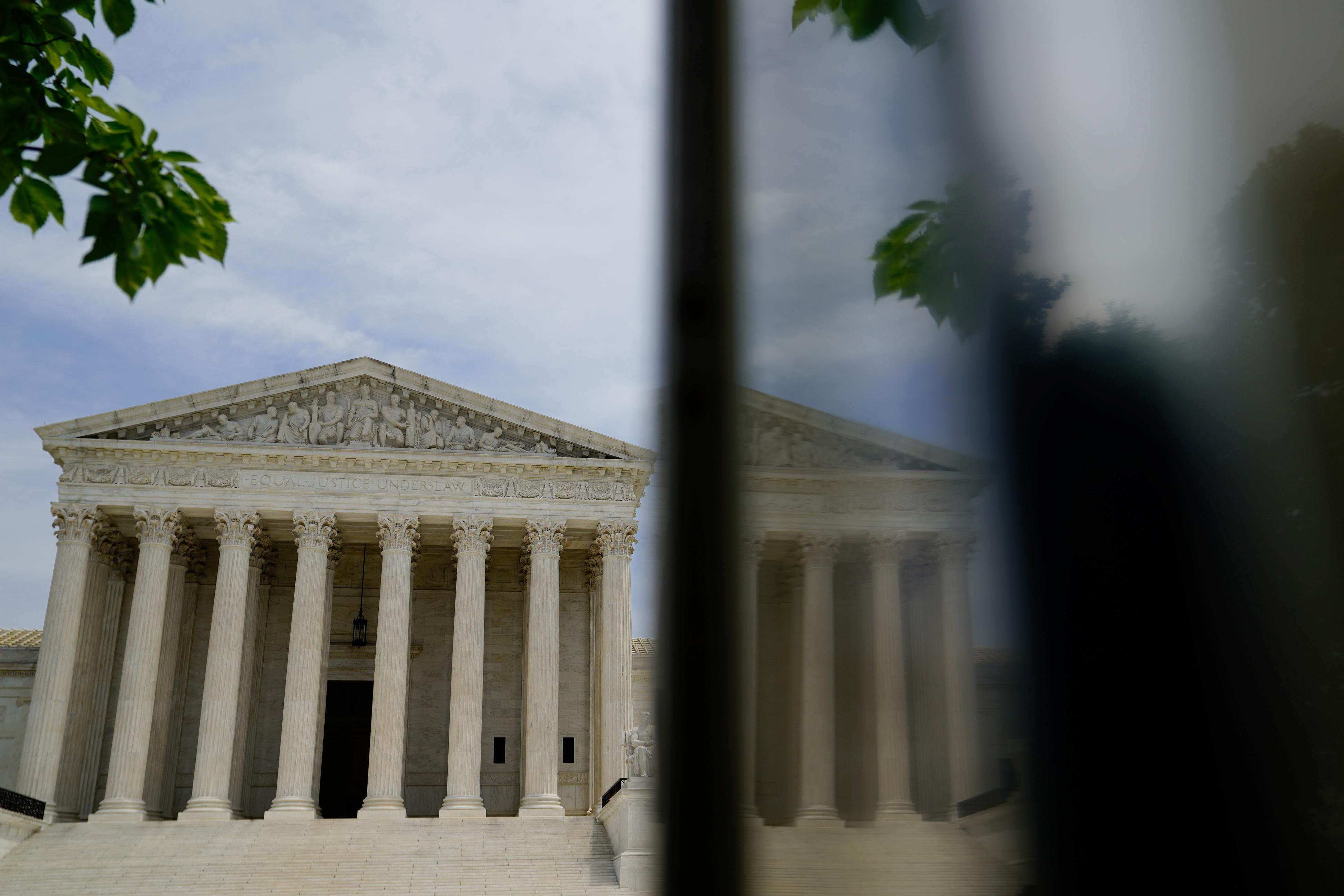 A general view of the U.S. Supreme Court in Washington, U.S. in Washington, U.S., May 22, 2021. REUTERS/Erin Scott