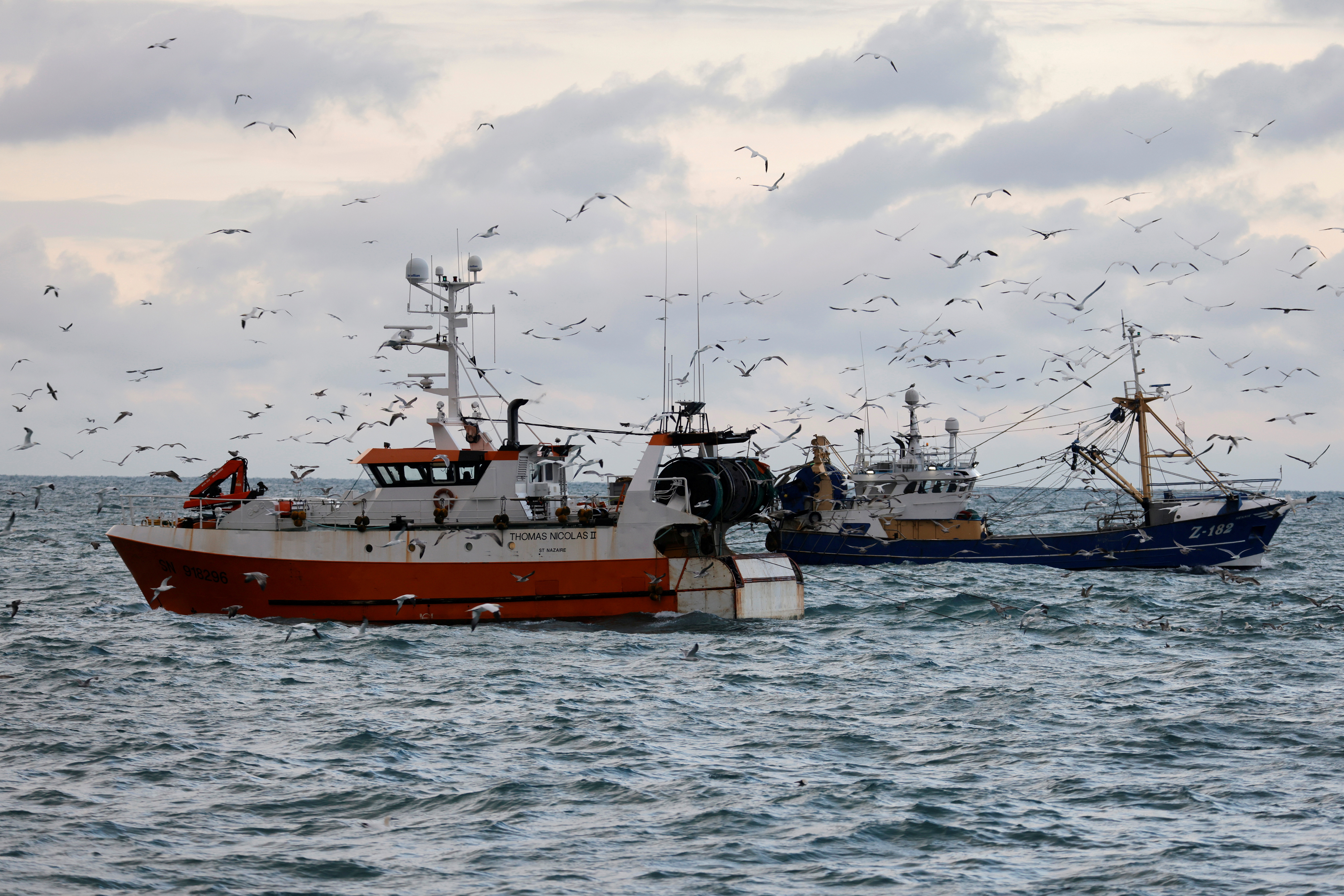 The French trawler
