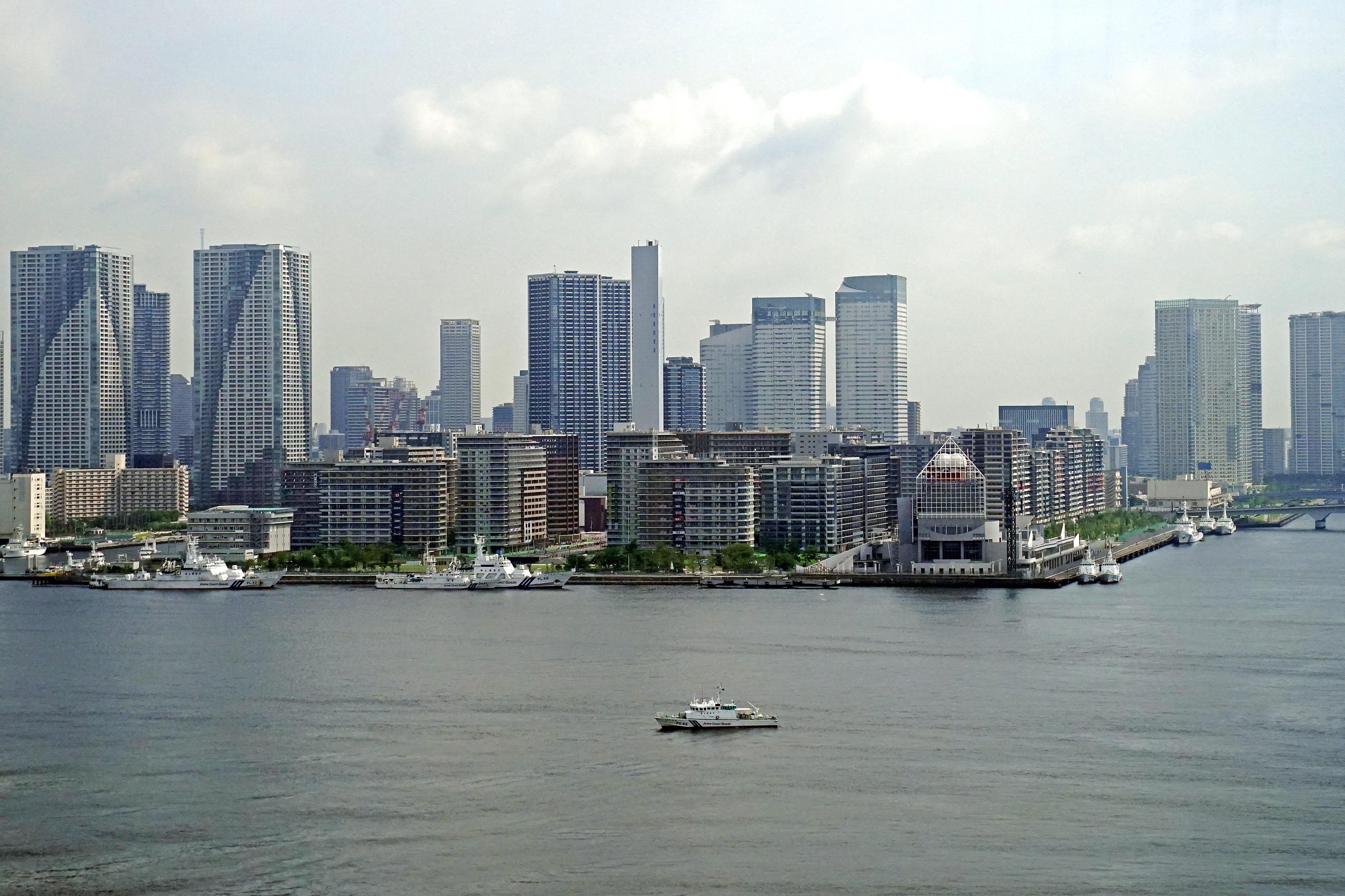 Jul 19, 2021; Tokyo, Japan; A view of Tokyo before the Tokyo 2020 Summer Olympic Games. Mandatory Credit: Mandi Wright-USA TODAY Network