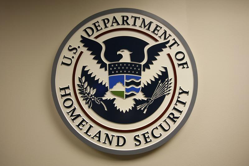 U.S. Department of Homeland Security emblem. REUTERS/Hyungwon Kang
