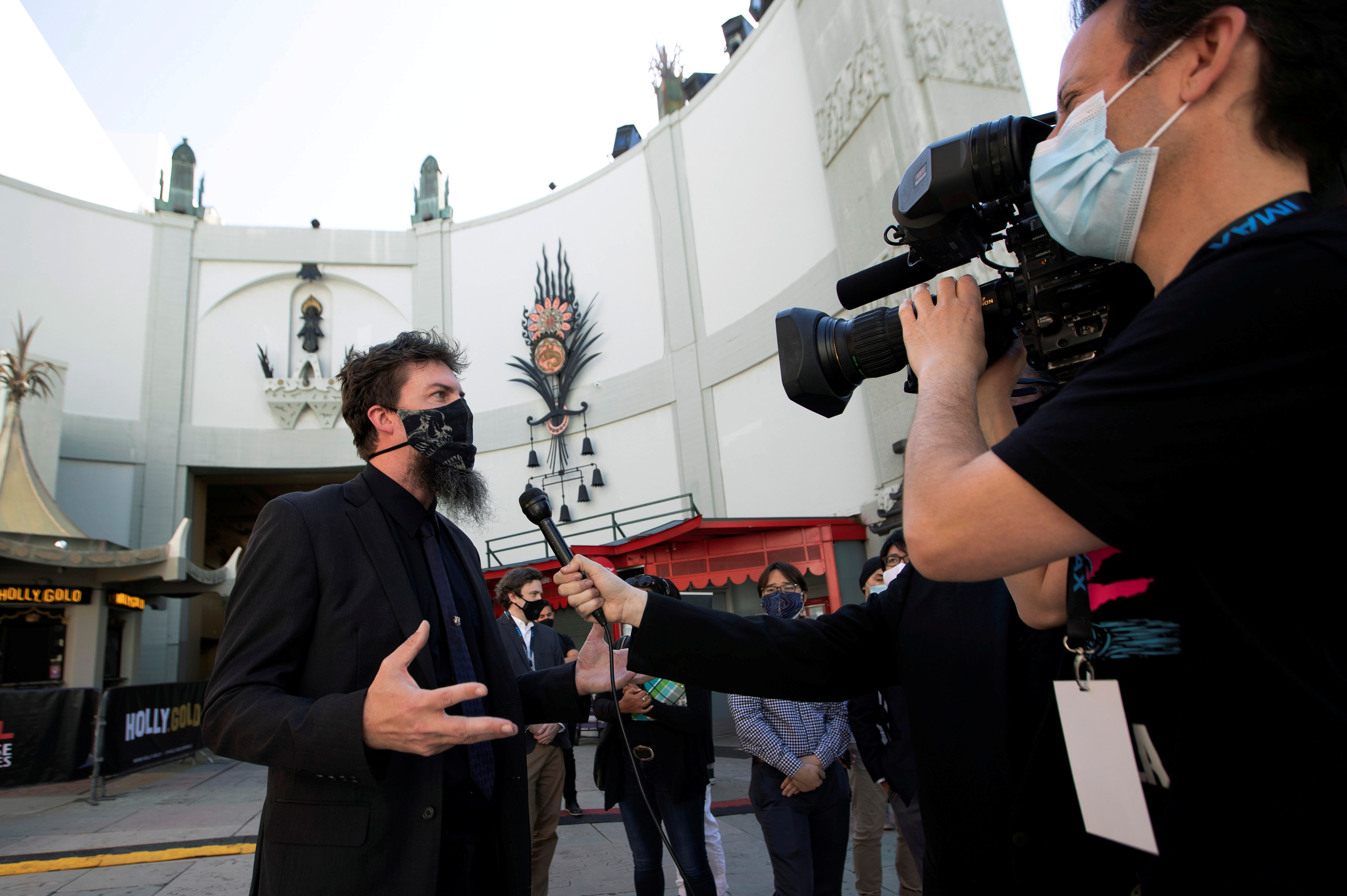 Adam Wingard, director of the upcoming movie