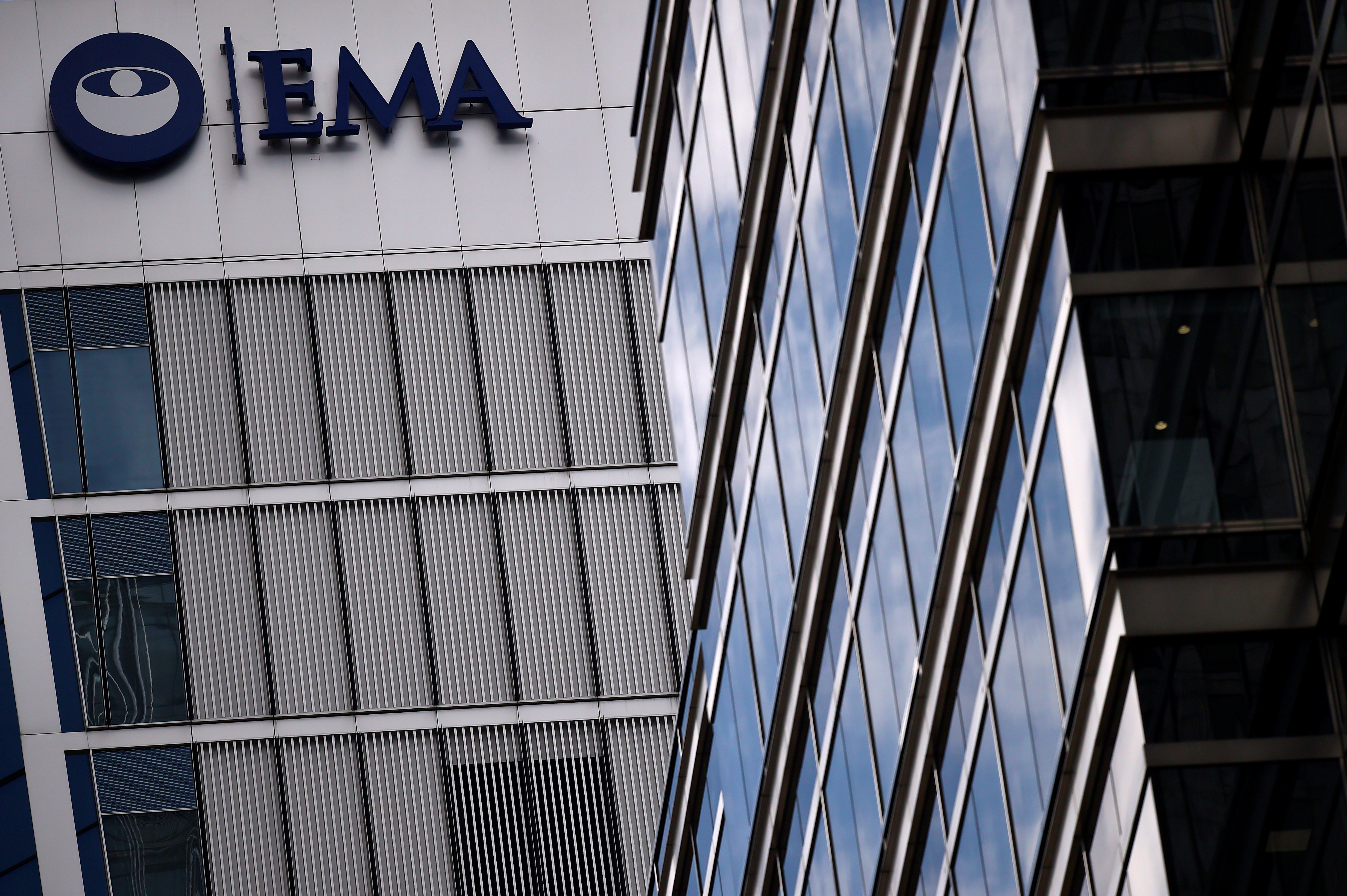The headquarters of the European Medicines Agency (EMA), is seen in London, Britain, April 25, 2017. REUTERS/Hannah McKay/File Photo