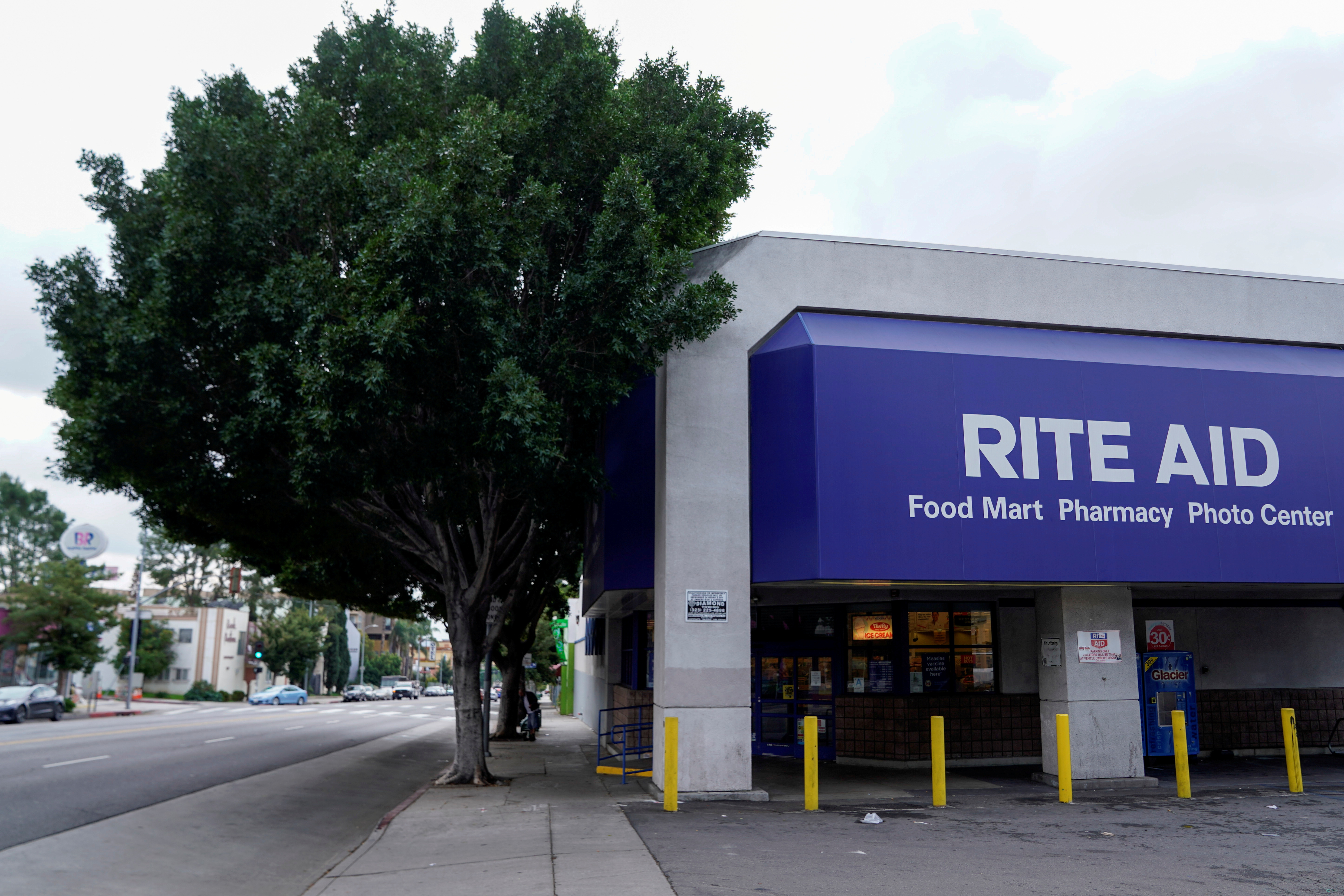 A Rite Aid store at 1841 North Western Avenue is shown at in Los Angeles, California.   REUTERS/Mike Blake