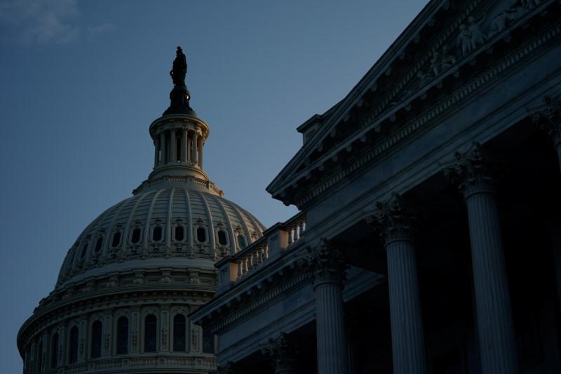 The U.S. Capitol building is pictured in Washington, U.S., August 8, 2021. REUTERS/Elizabeth Frantz