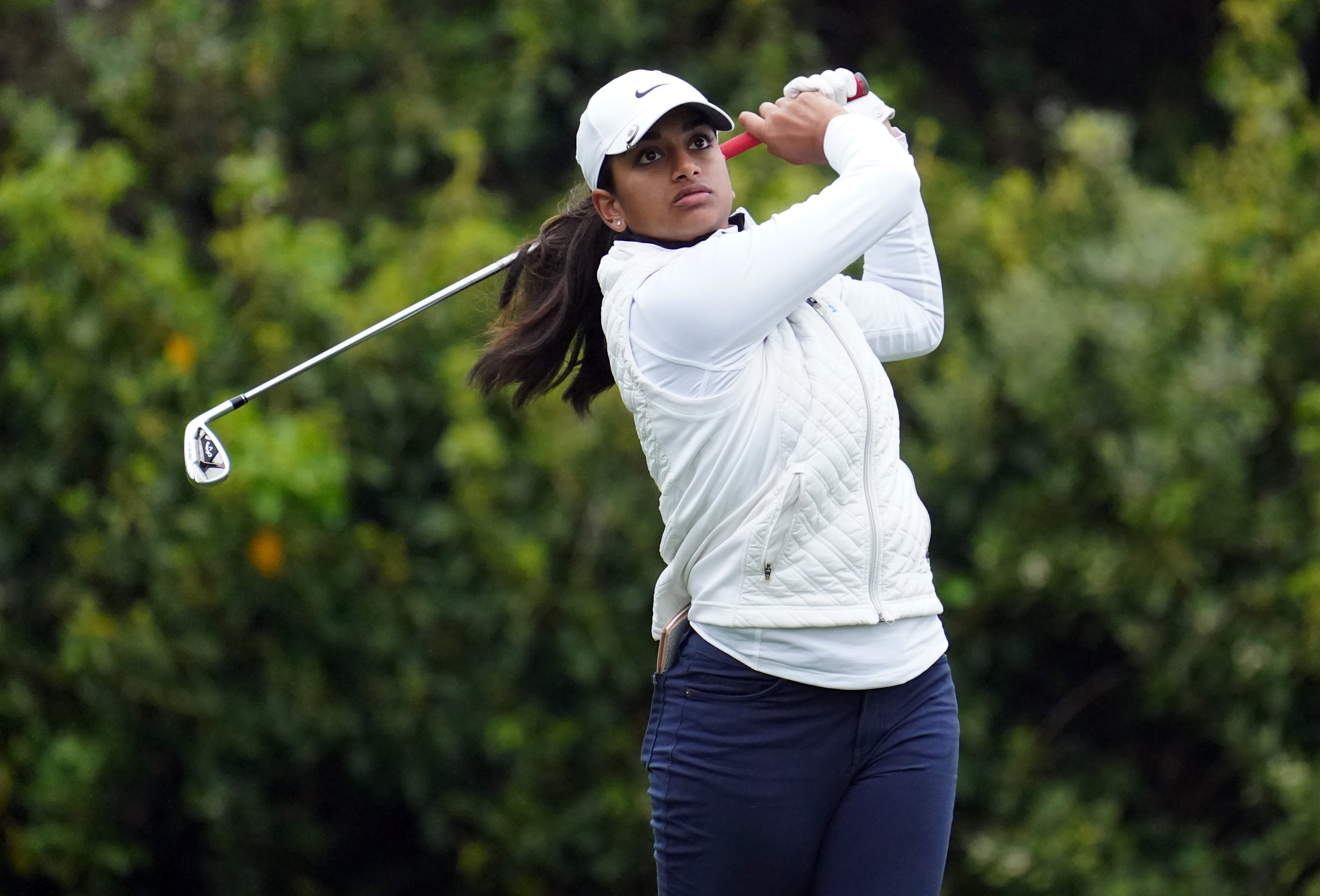 Saso Grabs Lead Amateur Ganne Two Back At U S Women S Open Reuters