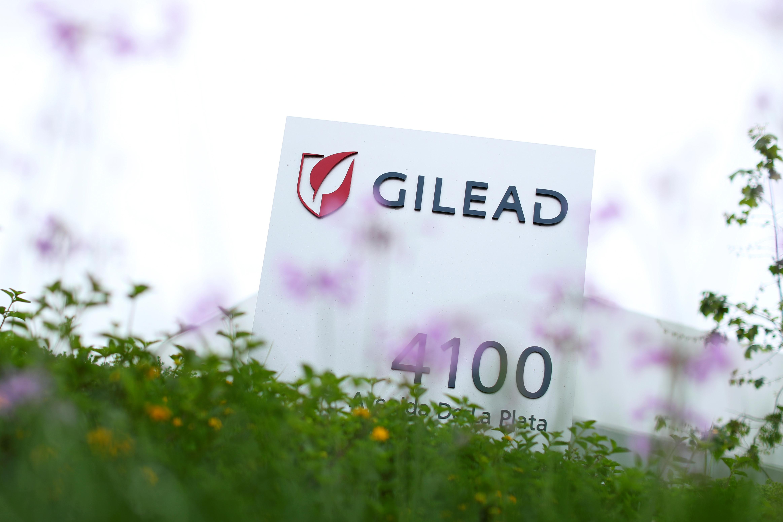 Gilead Sciences Inc pharmaceutical company  REUTERS/Mike Blake