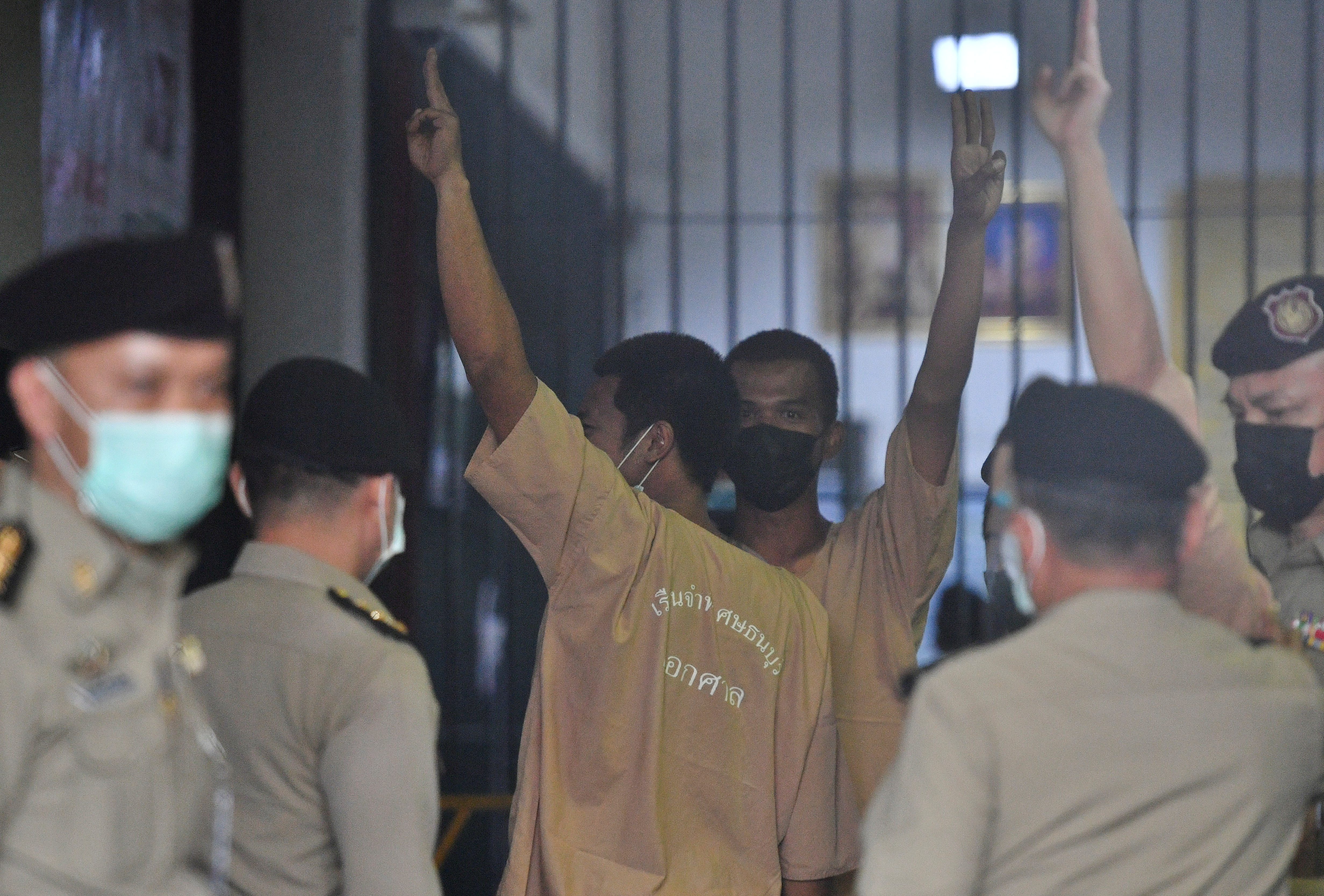 Arrested anti-government protest leader Jatupat