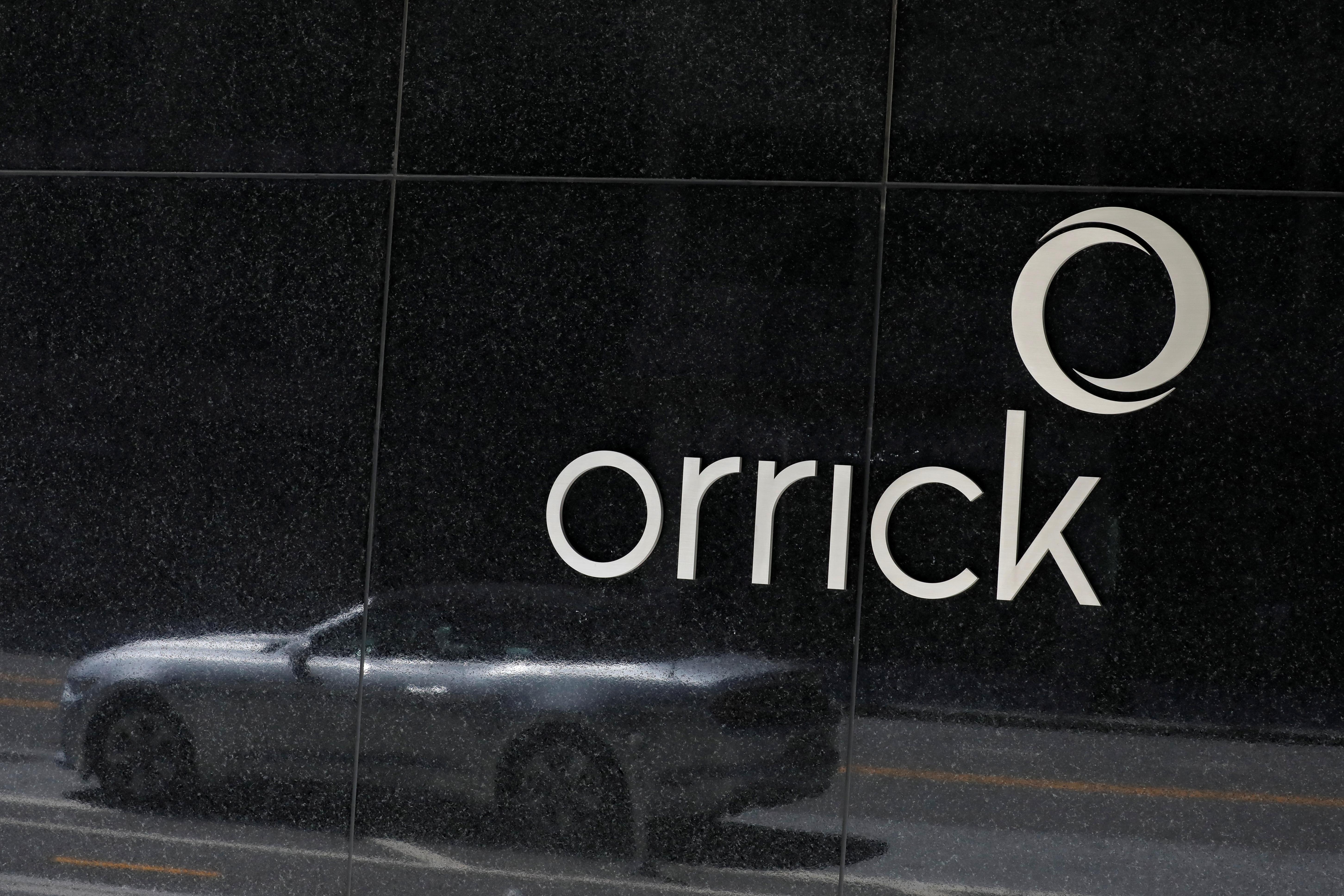 Orrick, Herrington & Sutcliffe offices in Washington, D.C. REUTERS/Andrew Kelly