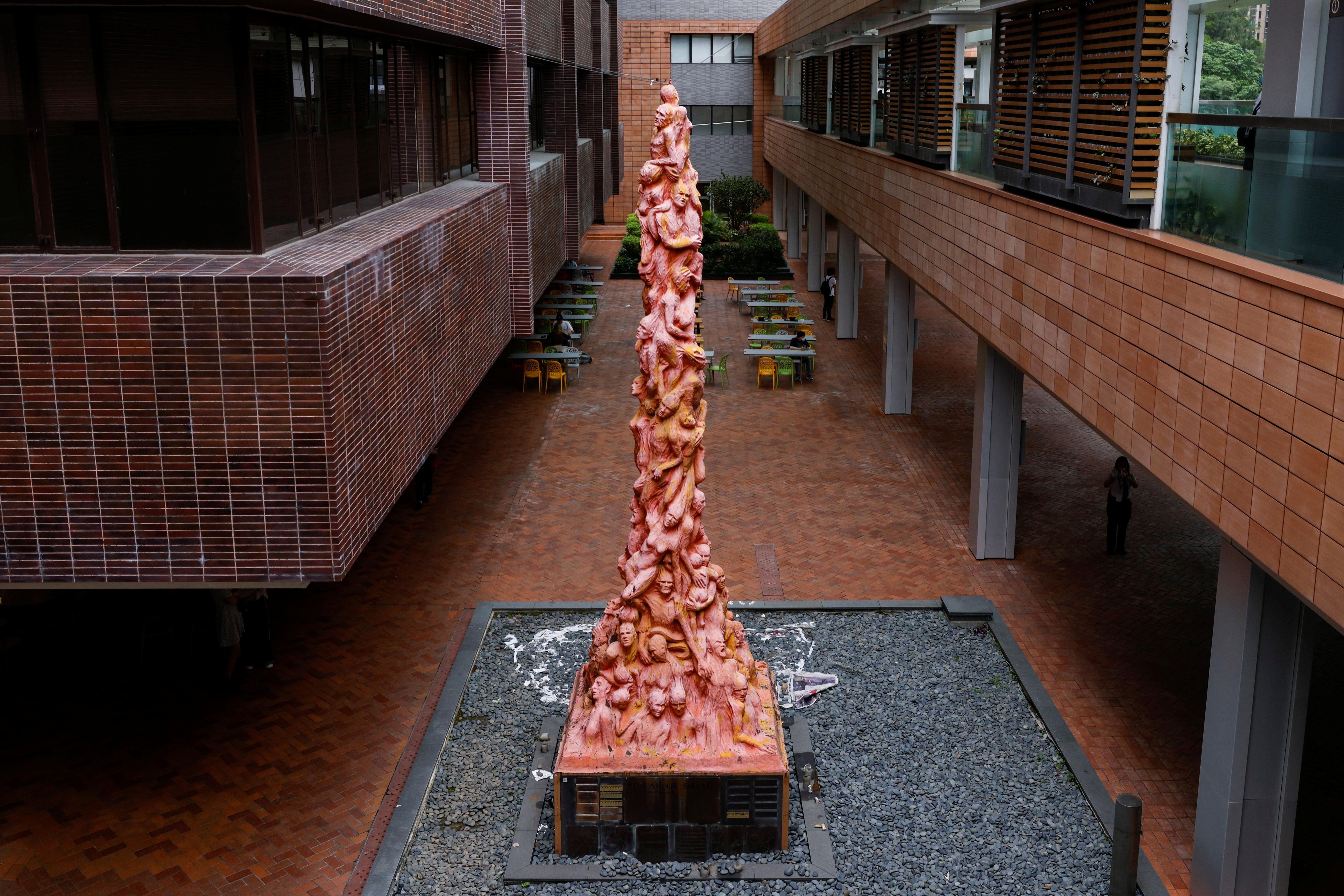 The eight-metre-high