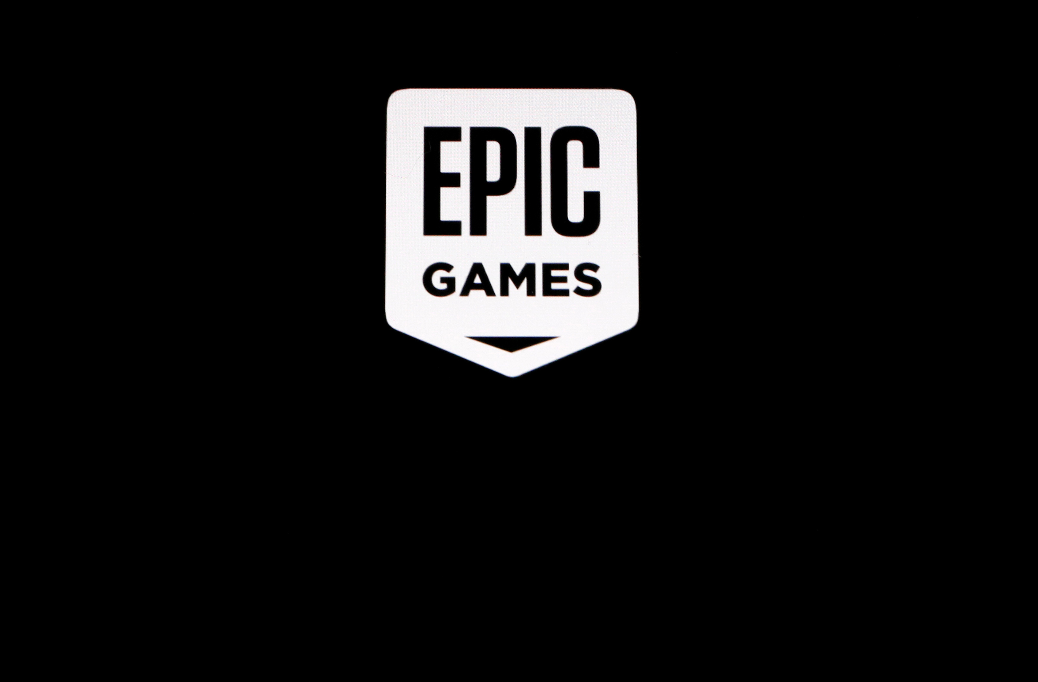 The Epic Games logo, maker of the popular video game