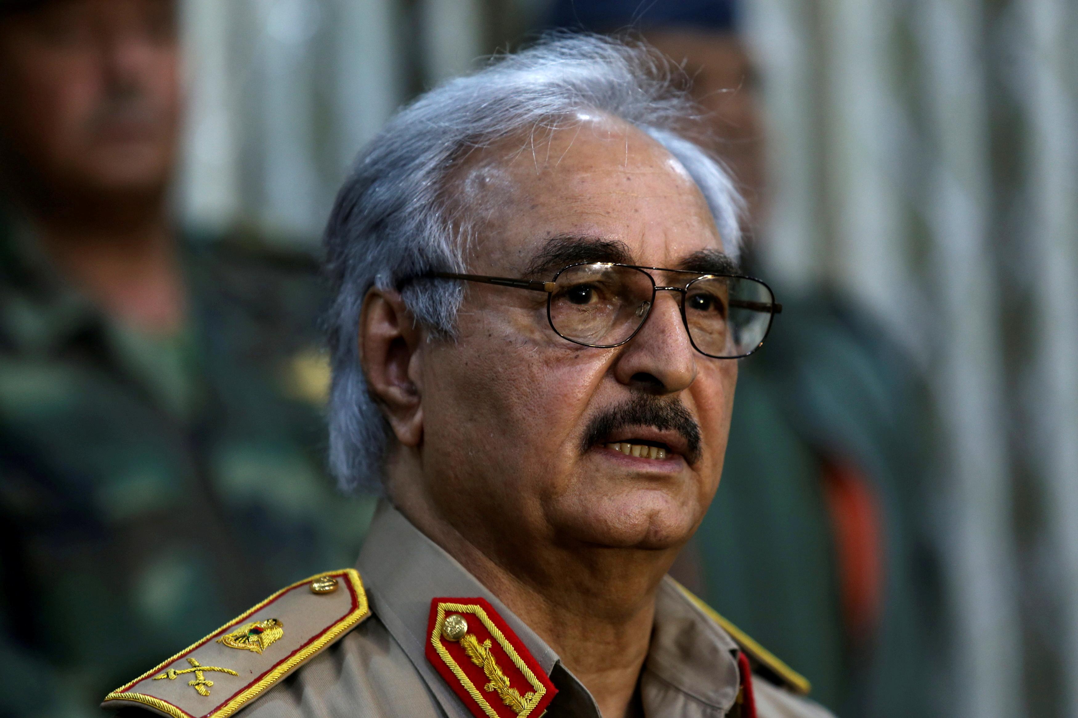 General Khalifa Haftar.  REUTERS/Esam Omran Al-Fetori