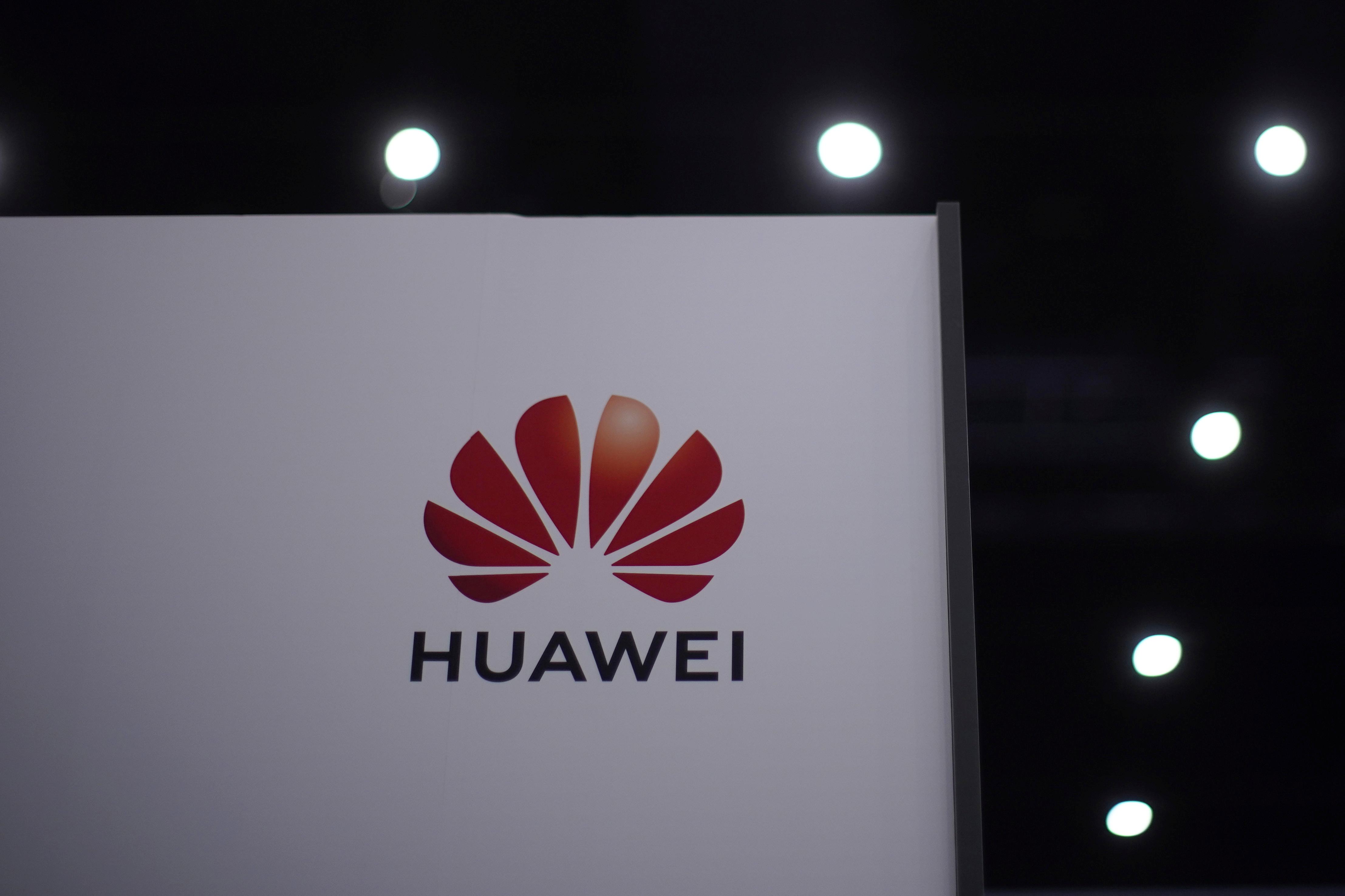 The Huawei logo is seen at Huawei Connect in Shanghai, China, September 23, 2020. REUTERS/Aly Song