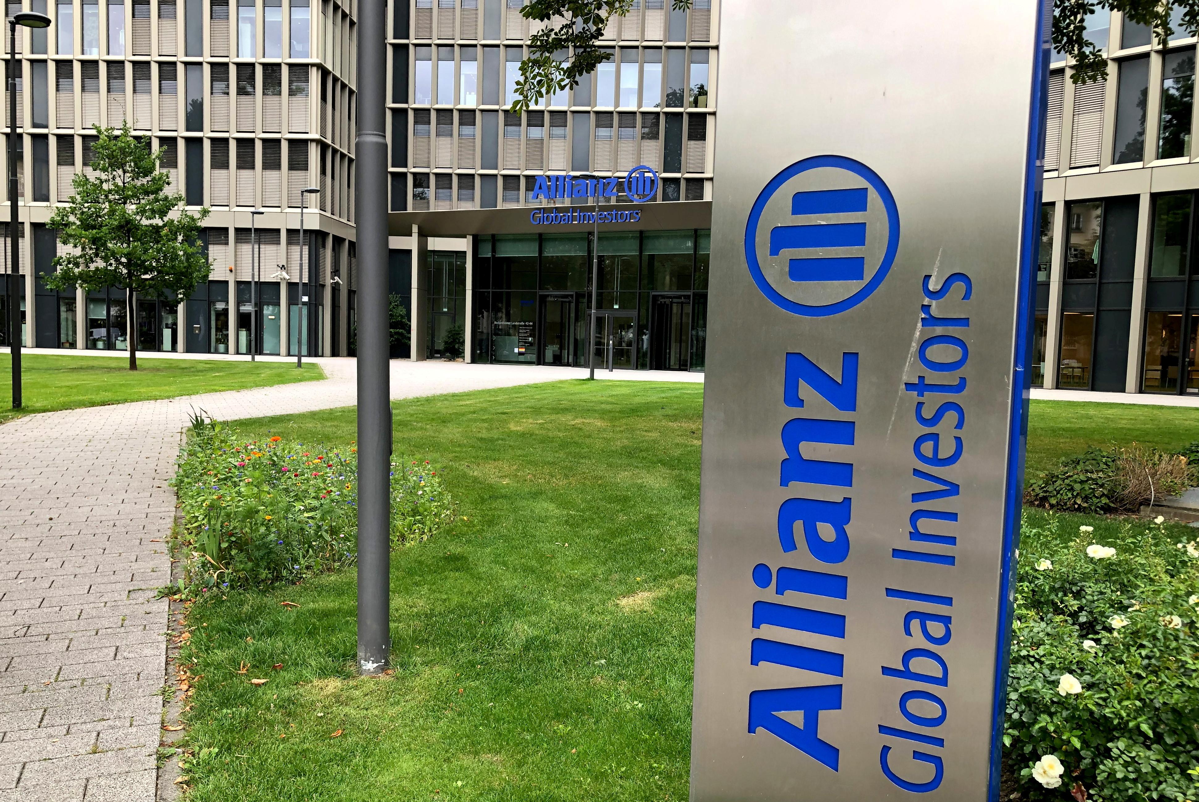 General view of the Allianz Global Investors headquarters in Frankfurt, Germany August 16, 2021. REUTERS/Tilman Blasshofer