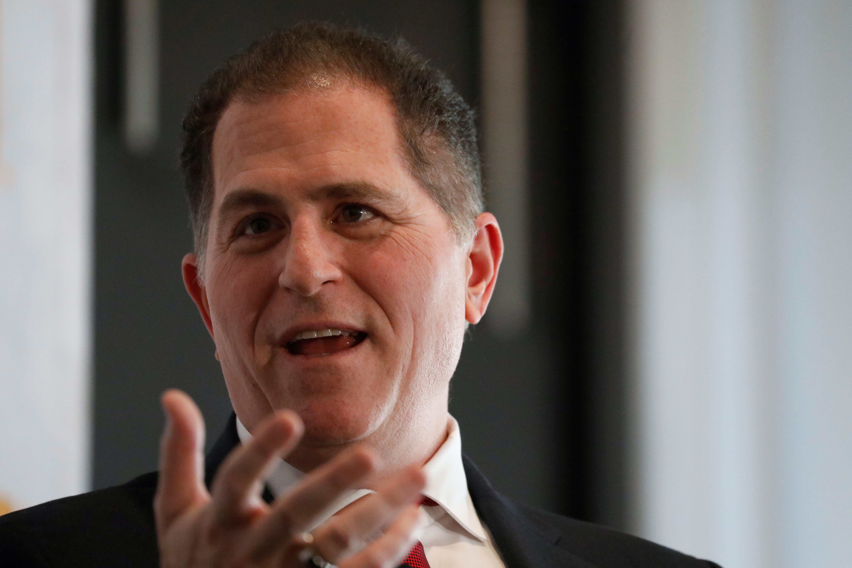 Dell CEO Michael Dell addresses the Economic Club of New York in New York, U.S., November 21, 2019.  REUTERS/Shannon Stapleton