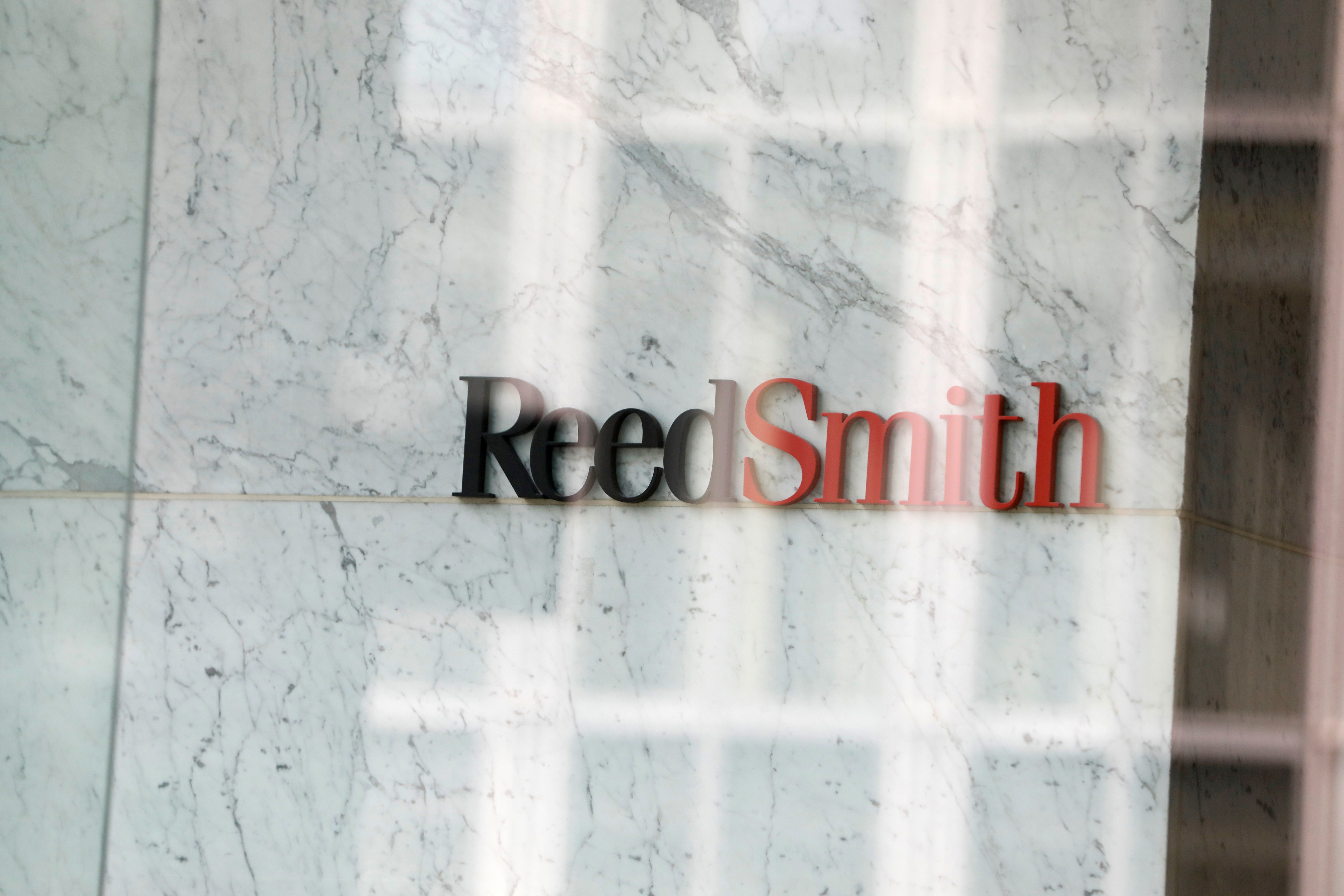 Reed Smith LLP office in Manhattan, New York City. REUTERS/Andrew Kelly