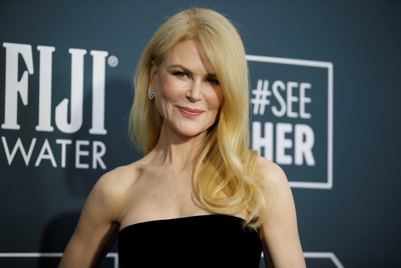 25th Critics Choice Awards – Arrivals – Santa Monica, California, U.S., January 12, 2020 - Nicole Kidman. REUTERS/Danny Moloshok/File Photo