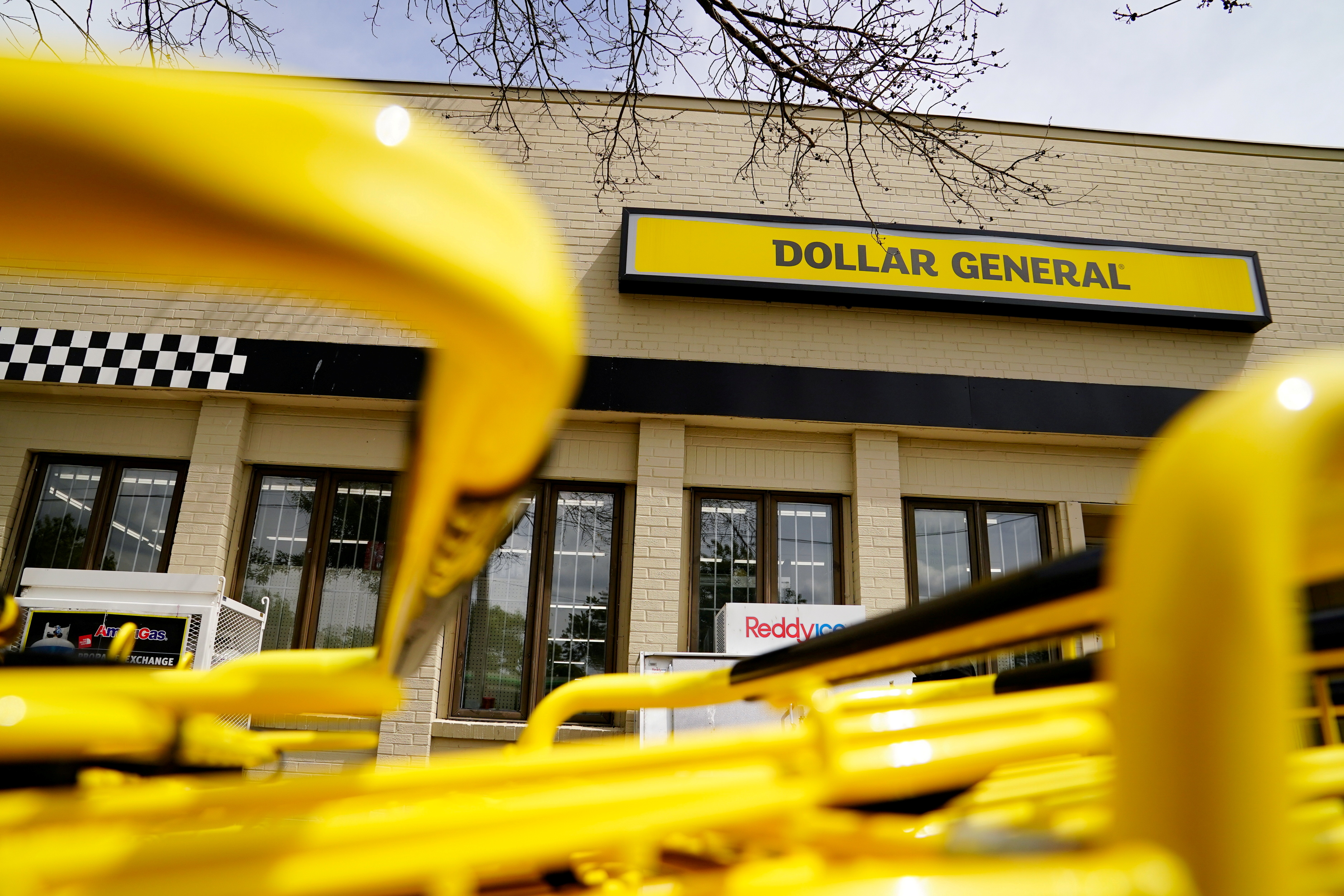 A view of a Dollar General store in Mount Rainier, Maryland, U.S., June 1, 2021. REUTERS/Erin Scott/File Photo