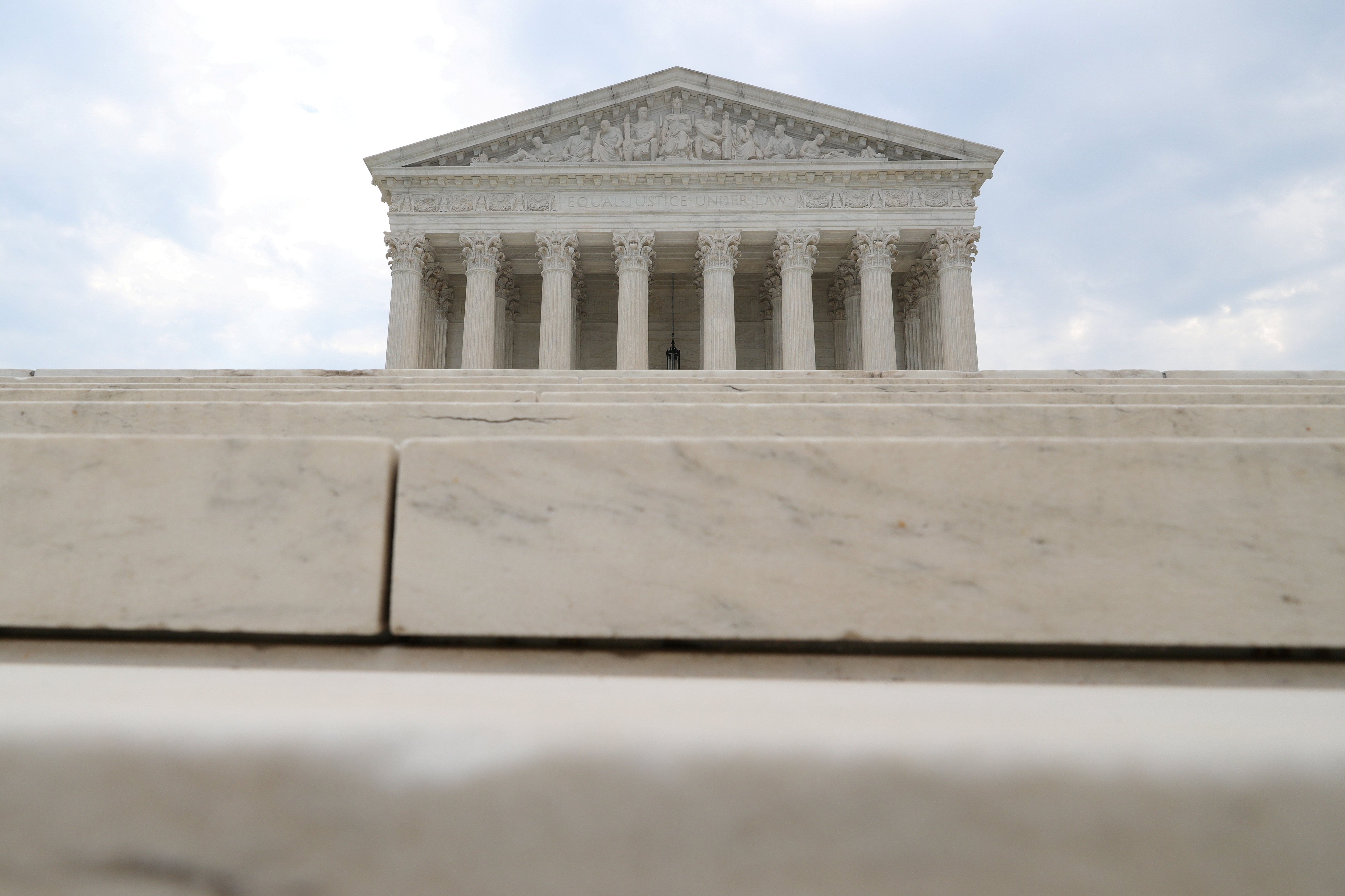 General view of the United States Supreme Court Building, as a series of rulings are issued at the United States Supreme Court in Washington, U.S., July 6, 2020. REUTERS/Tom Brenner/File Photo