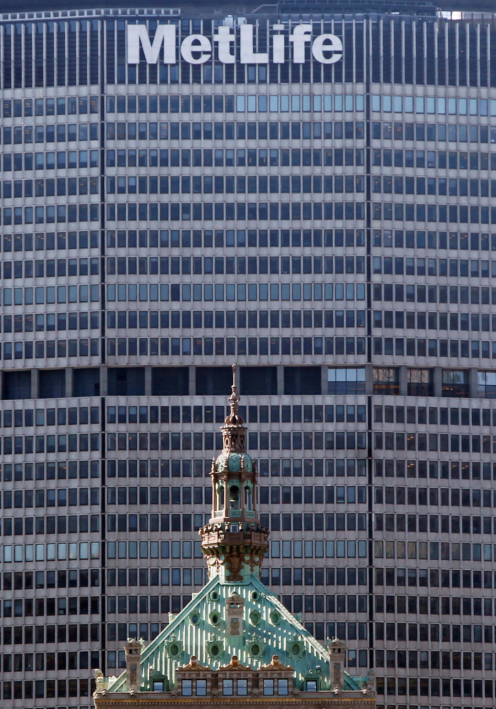 The MetLife building is seen in New York. REUTERS/Shannon Stapleton