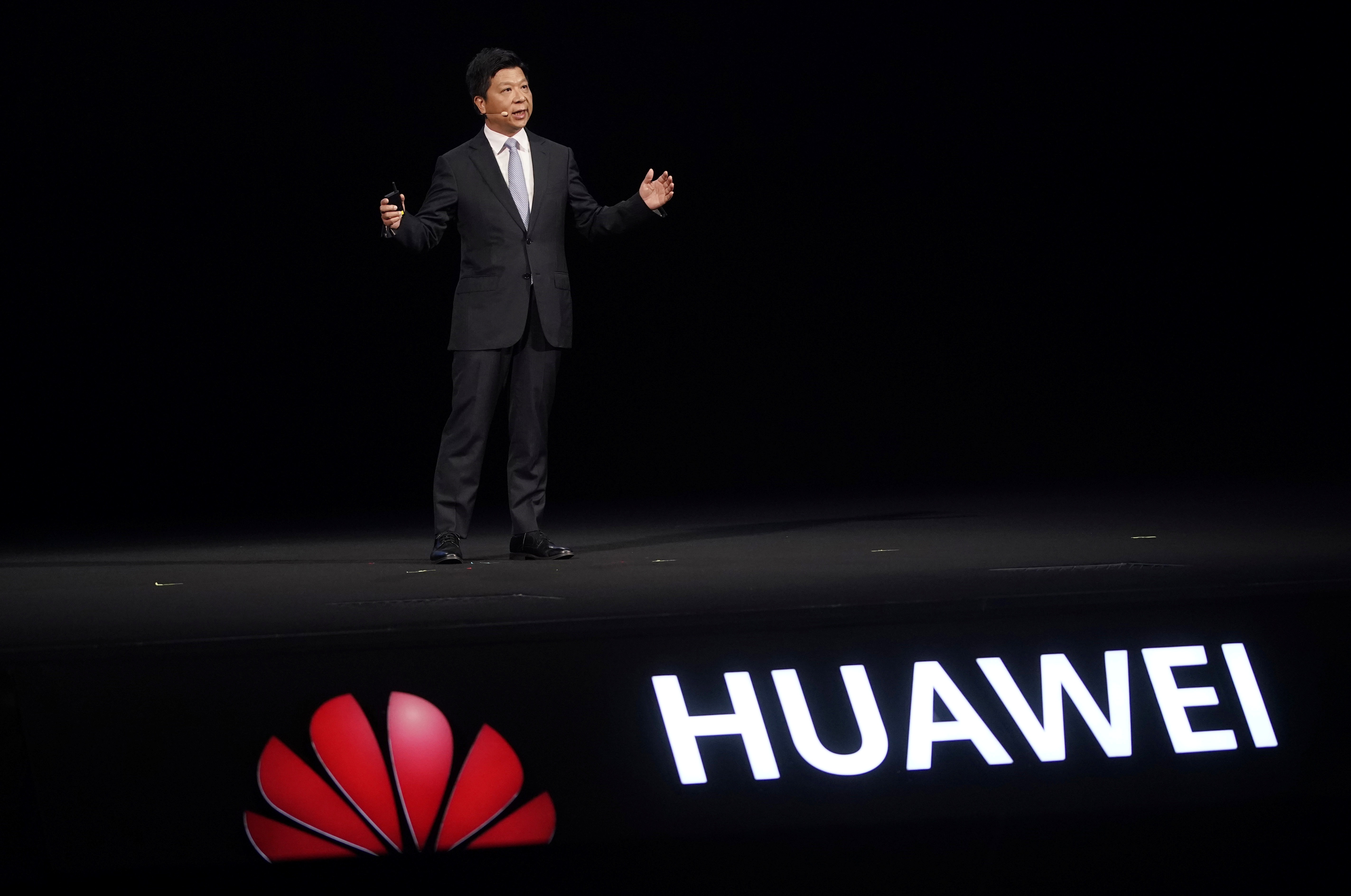 Huawei rotating chairman Guo Ping speaks at Huawei Connect in Shanghai, China, September 23, 2020. REUTERS/Aly Song