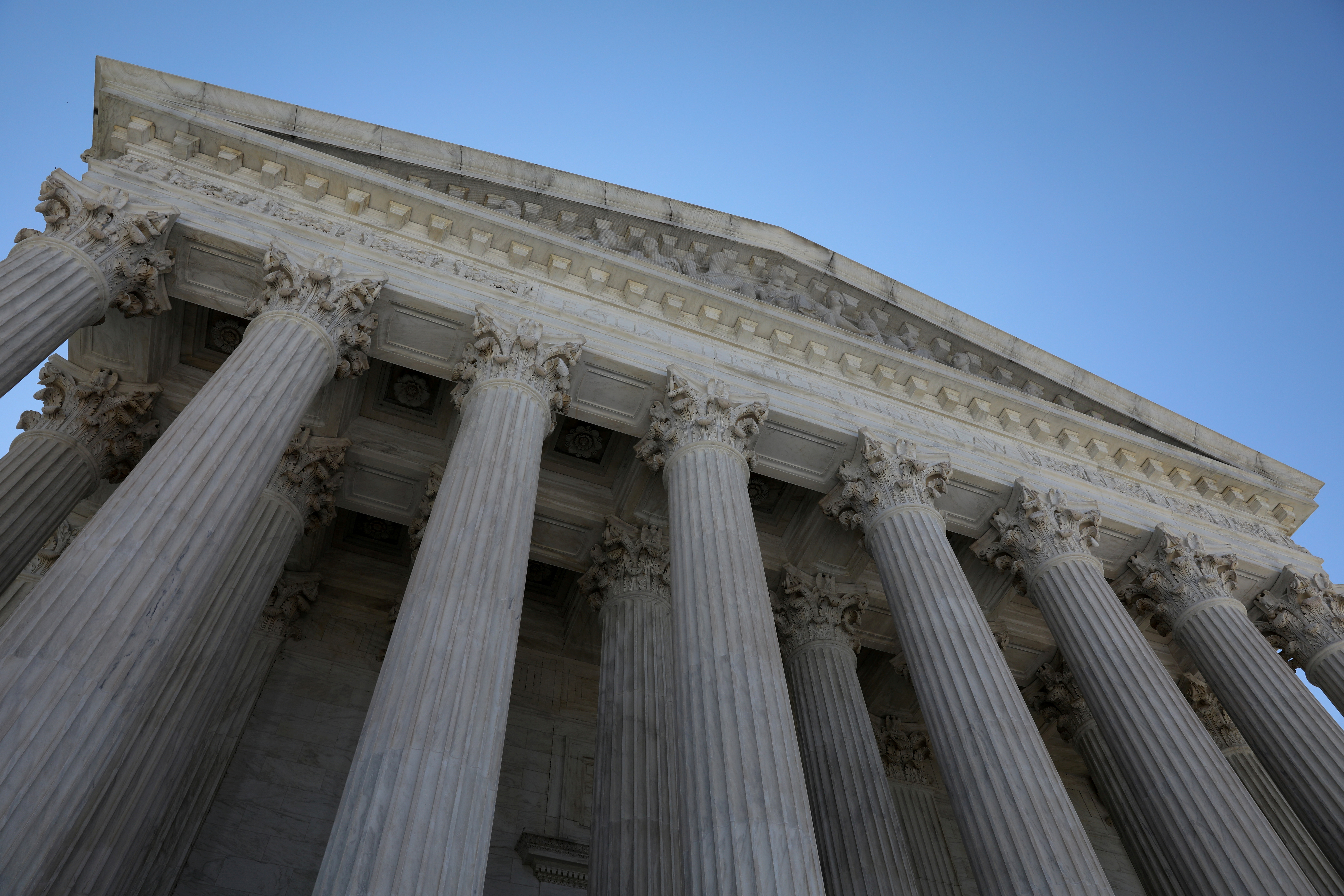 A general view of the U.S. Supreme Court building in Washington, U.S. July 2, 2020. REUTERS/Jonathan Ernst/File Photo