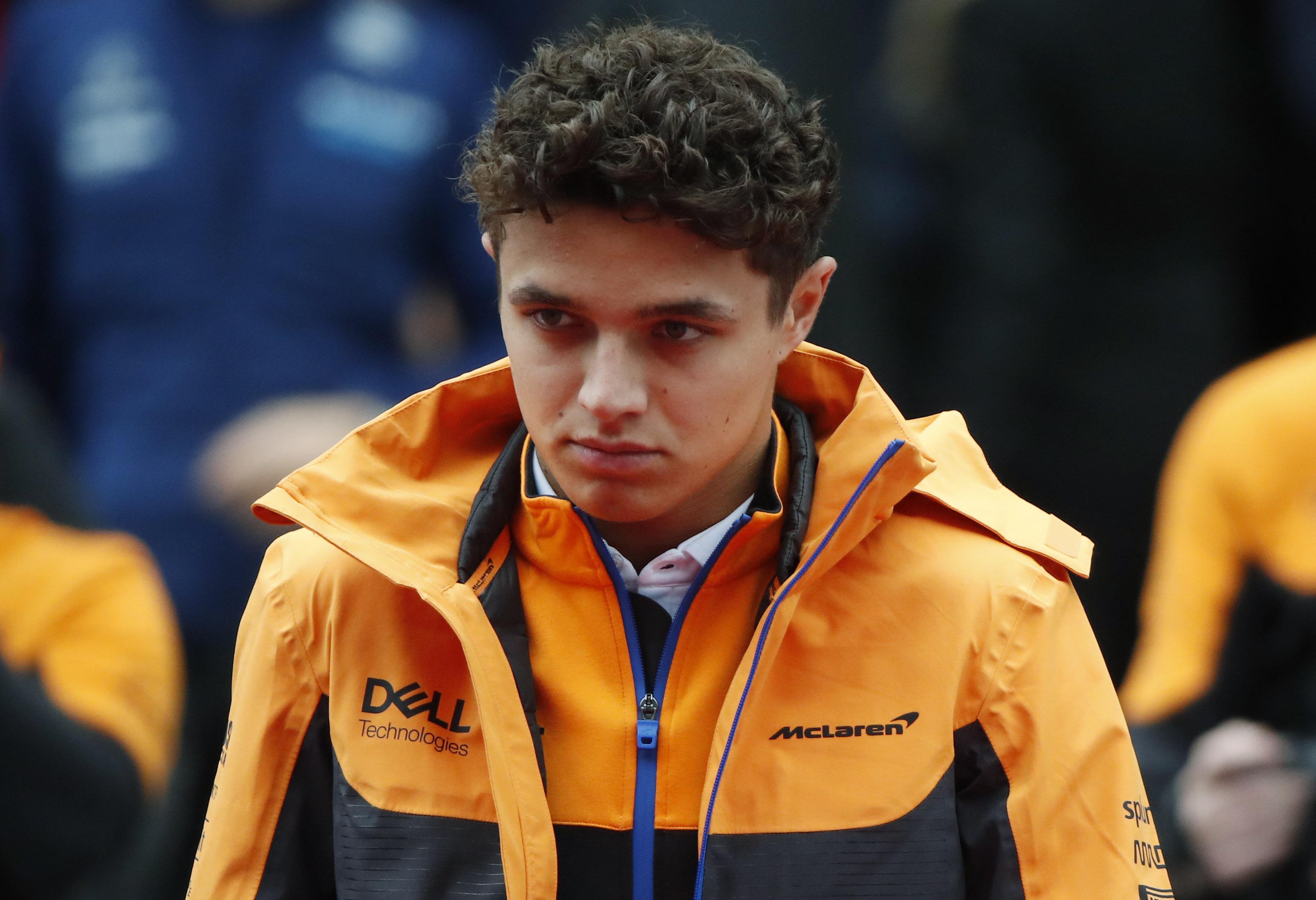 FILE PHOTO-Formula One F1 - Russian Grand Prix - Sochi Autodrom, Sochi, Russia - September 26, 2021 McLaren's Lando Norris is seen before the race REUTERS/Maxim Shemetov