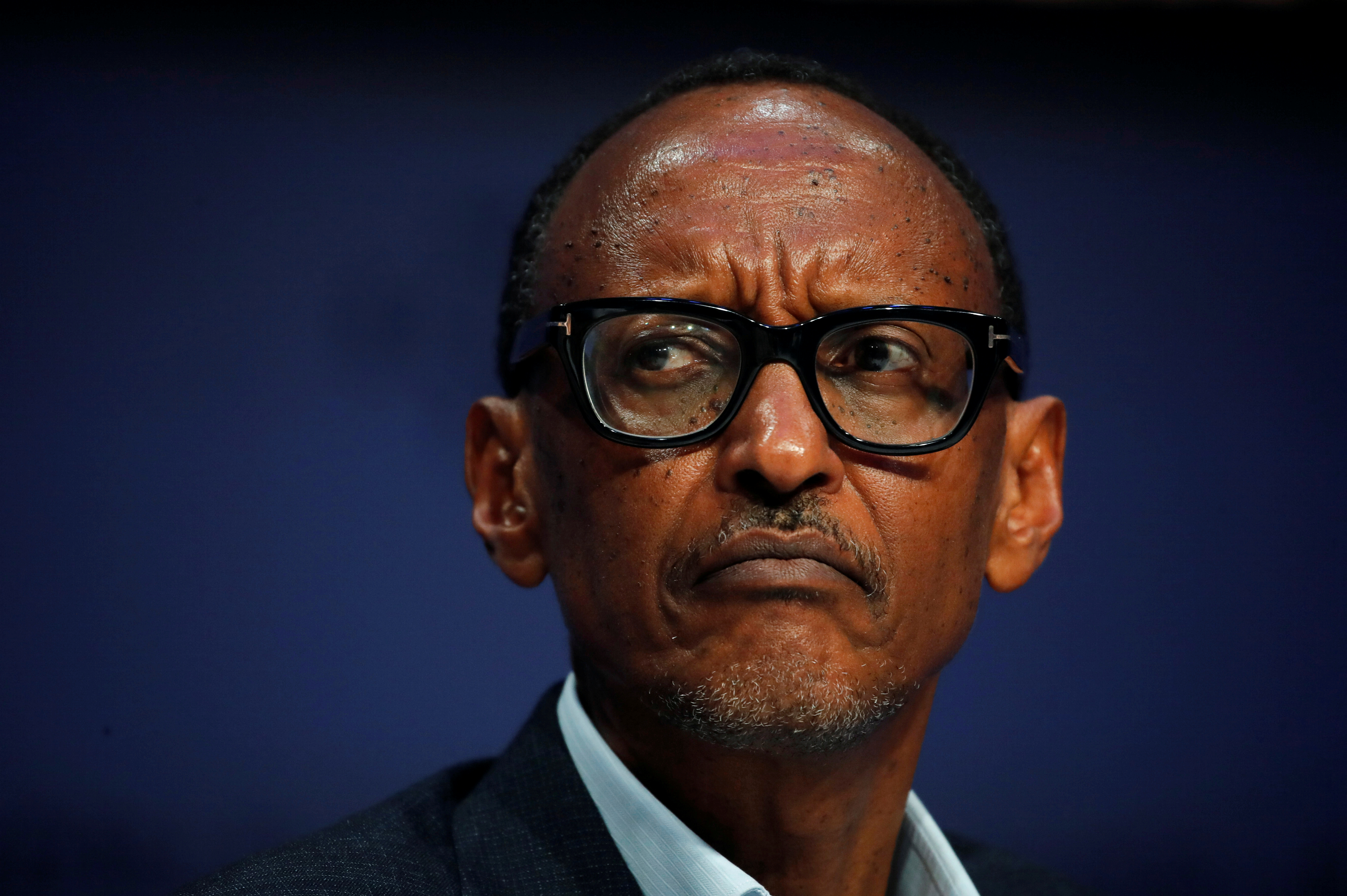Rwanda's President Paul Kagame attends the World Economic Forum (WEF) annual meeting in Davos, Switzerland, January 23, 2019. REUTERS/Arnd Wiegmann