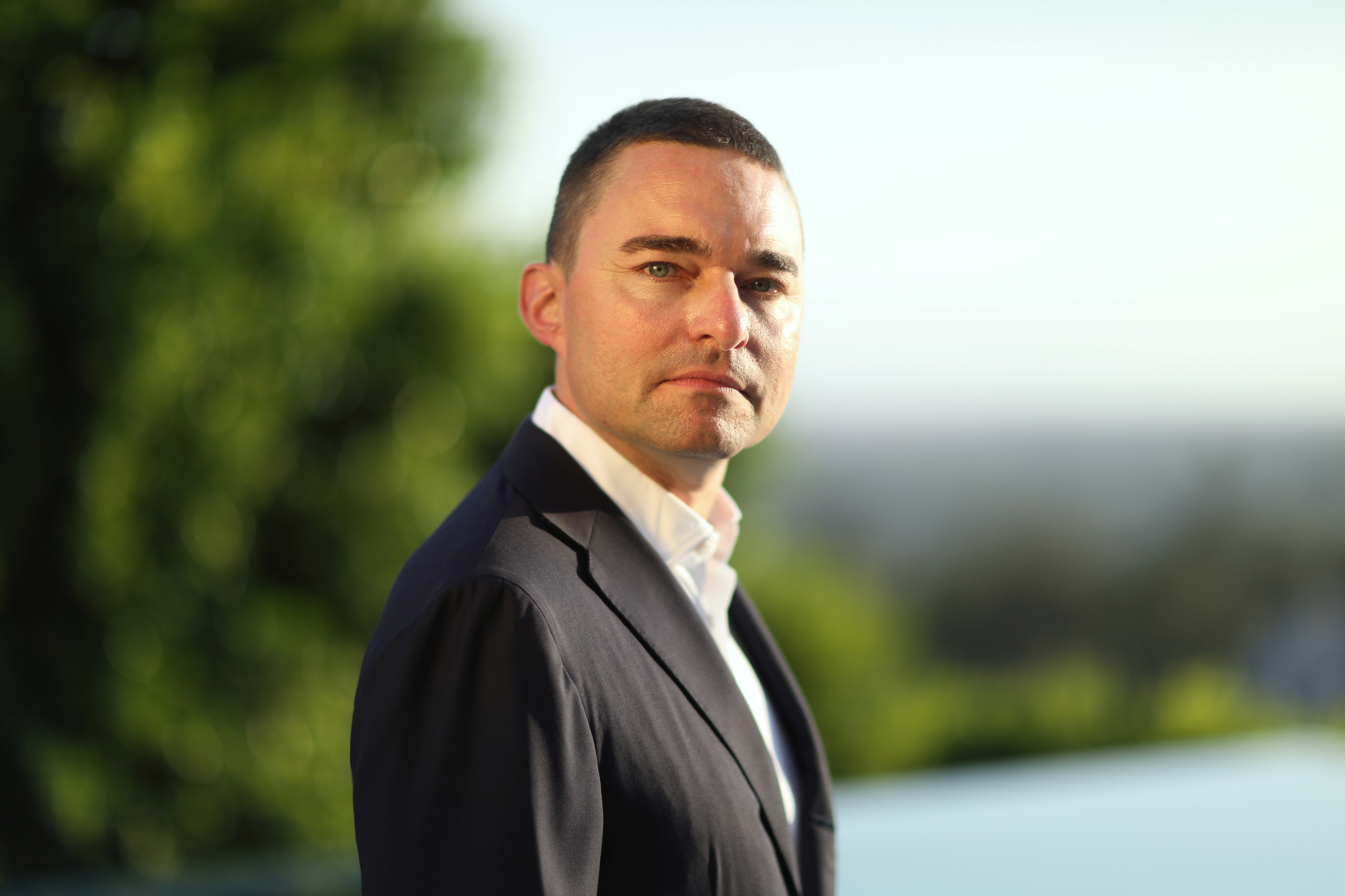 German investor Lars Windhorst poses for a portrait in Los Angeles, California, U.S., July 11, 2021. REUTERS/David Swanson