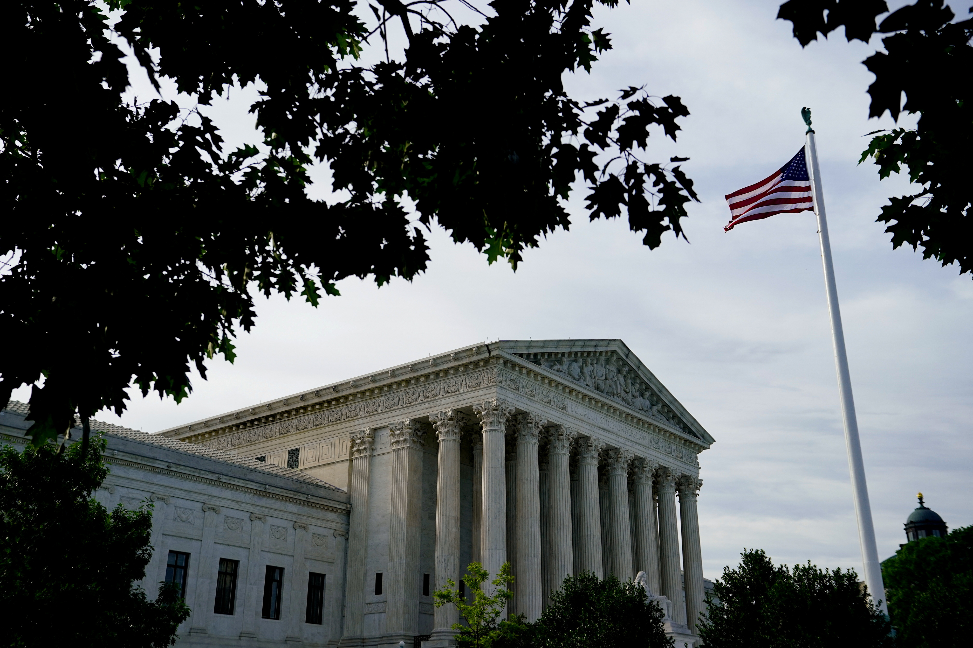 A view of the U.S. Supreme Court in Washington, U.S., June 1, 2021. REUTERS/Erin Scott