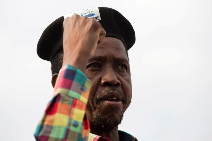 Zambia's President  Edgar Lungu speaks at a rally in the capital Lusaka, Zambia January 19, 2015. REUTERS/Rogan Ward/File Photo