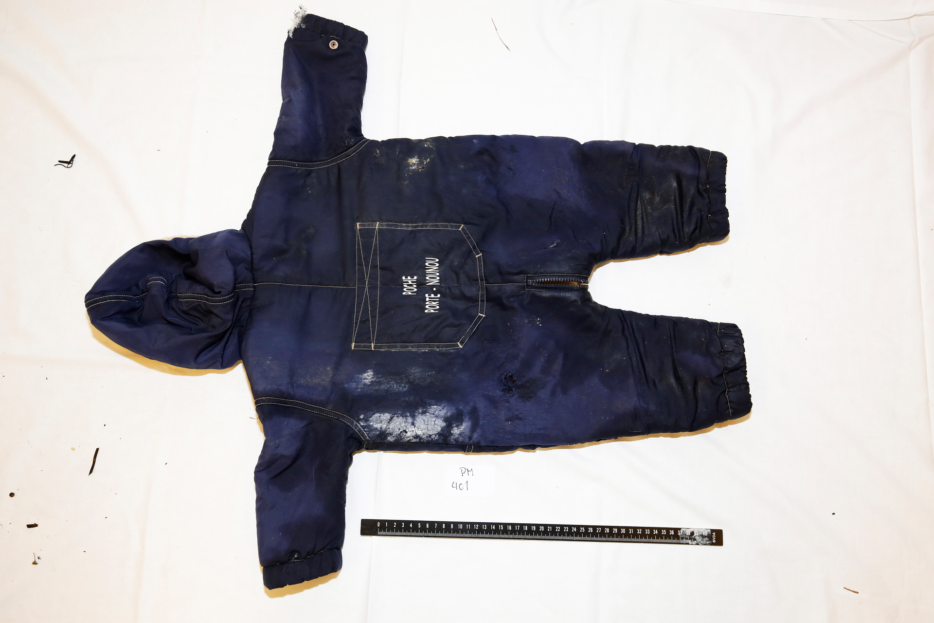 A police handout photo shows clothes belonging to the 18-month old Iranian migrant boy Artin Irannezhad whose body washed up on the southwest coast of Norway on New Year's Day, released in Norway, June 7, 2021. Norwegian Police/Handout via REUTERS