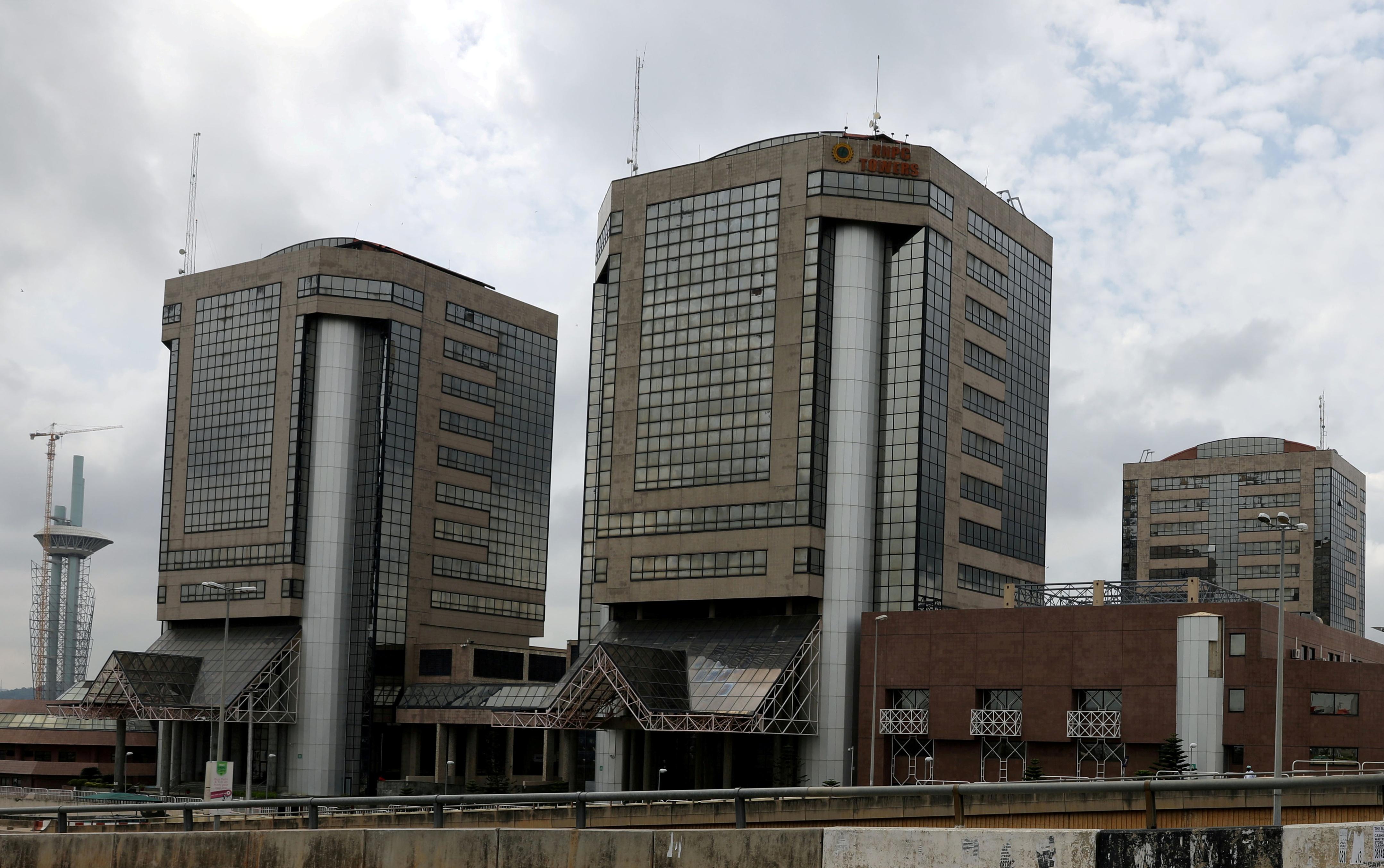 Nigerian National Petroleum Corporation (NNPC) headquarters are seen in Abuja, Nigeria July 28, 2017. REUTERS/Afolabi Sotunde