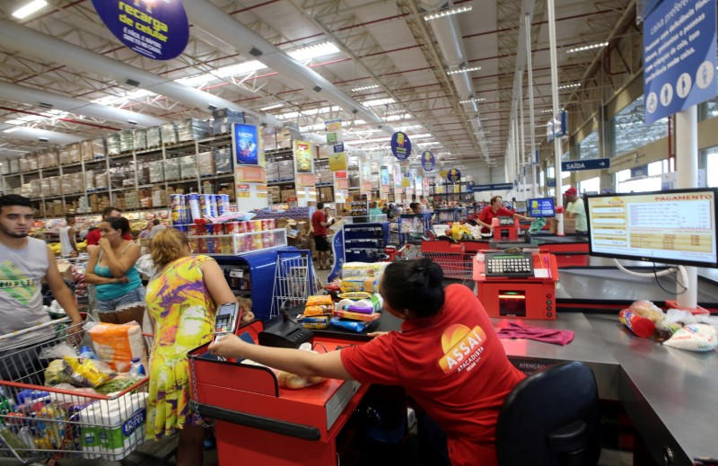 General view of an Assai store, cash-and-carry division of Brazilian retailer GPA SA, in Sao Paulo, Brazil, January 11, 2017. REUTERS/Paulo Whitaker/File Photo