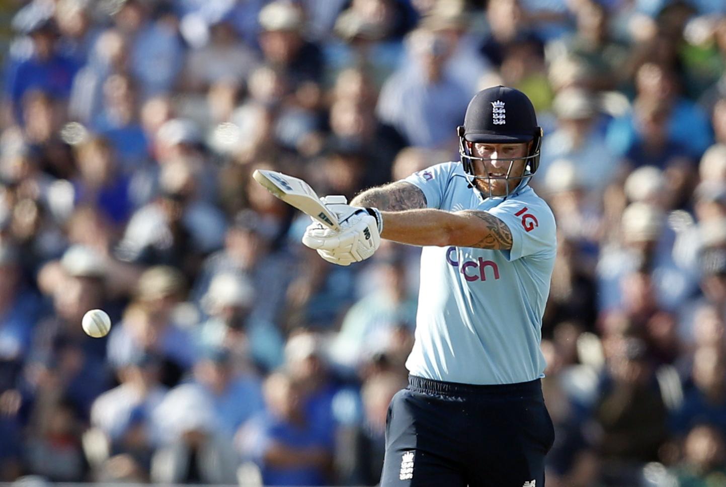Cricket - Third One Day International - England v Pakistan - Edgbaston Stadium, Birmingham, Britain - July 13, 2021 England's Ben Stokes in action Action Images via Reuters/Ed Sykes