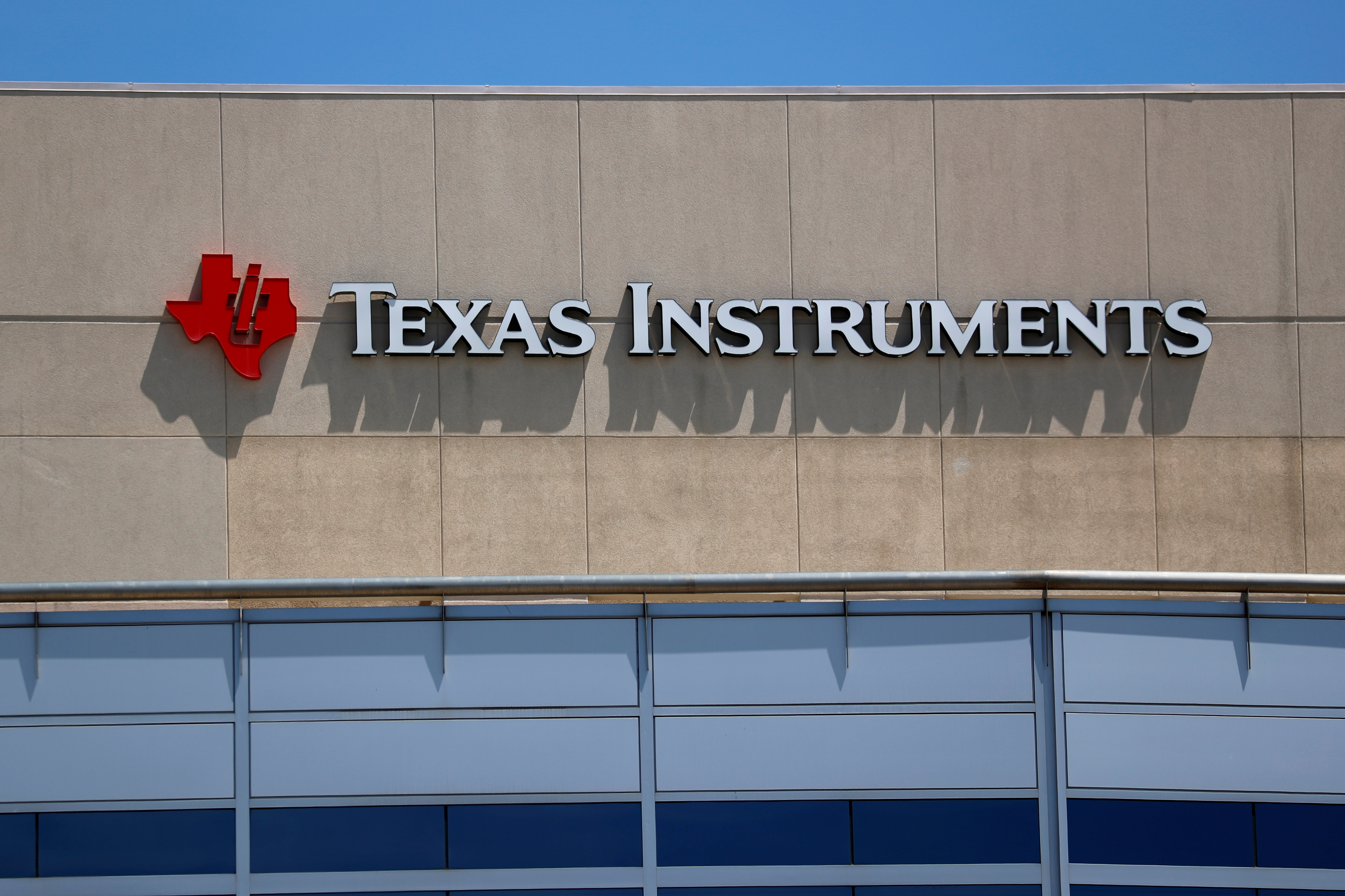 A Texas Instruments Office is shown in San Diego, California, U.S., April 24, 2018.  REUTERS/Mike Blake