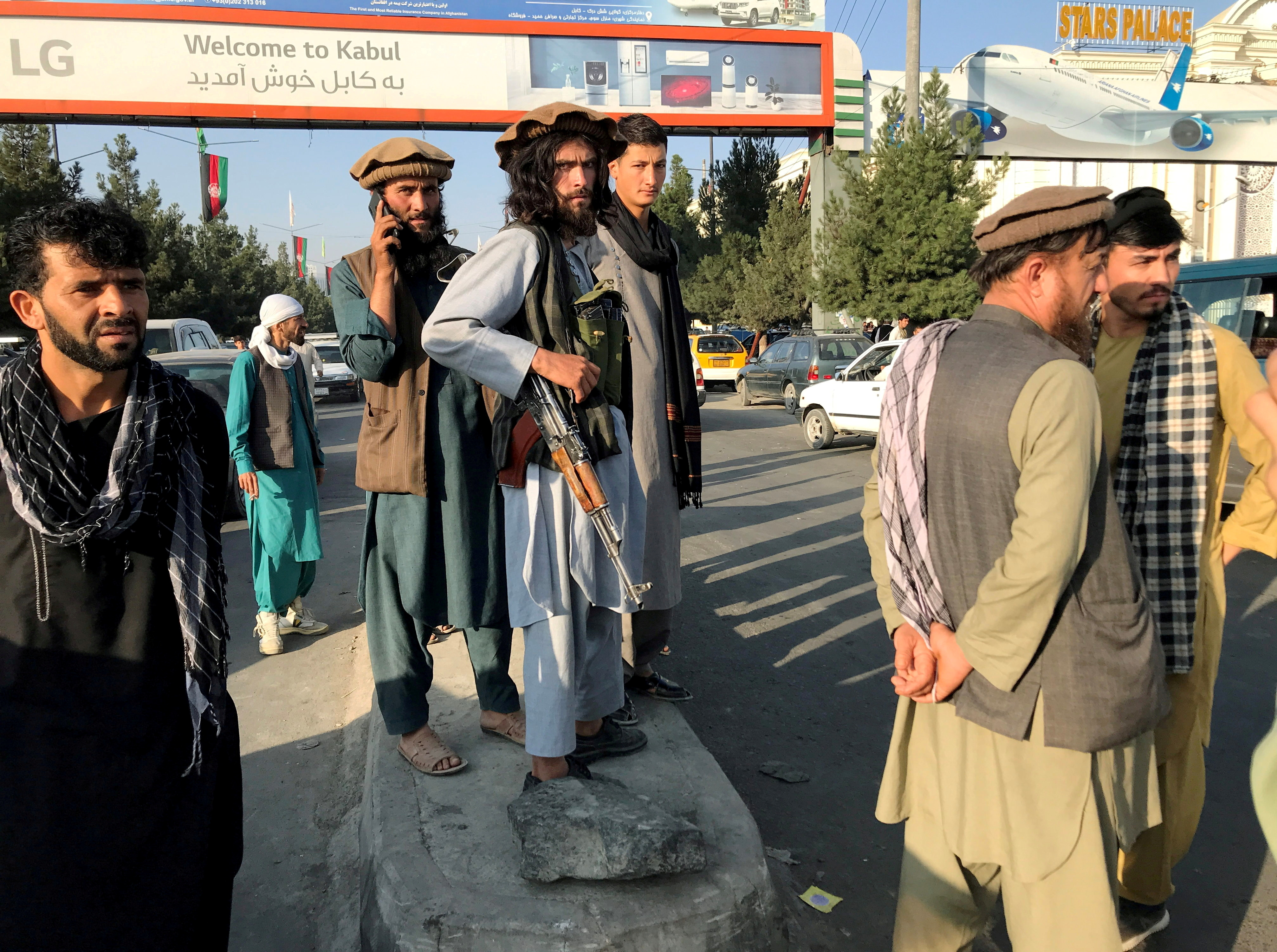 U.S. focused on securing Kabul airport after chaos   Reuters