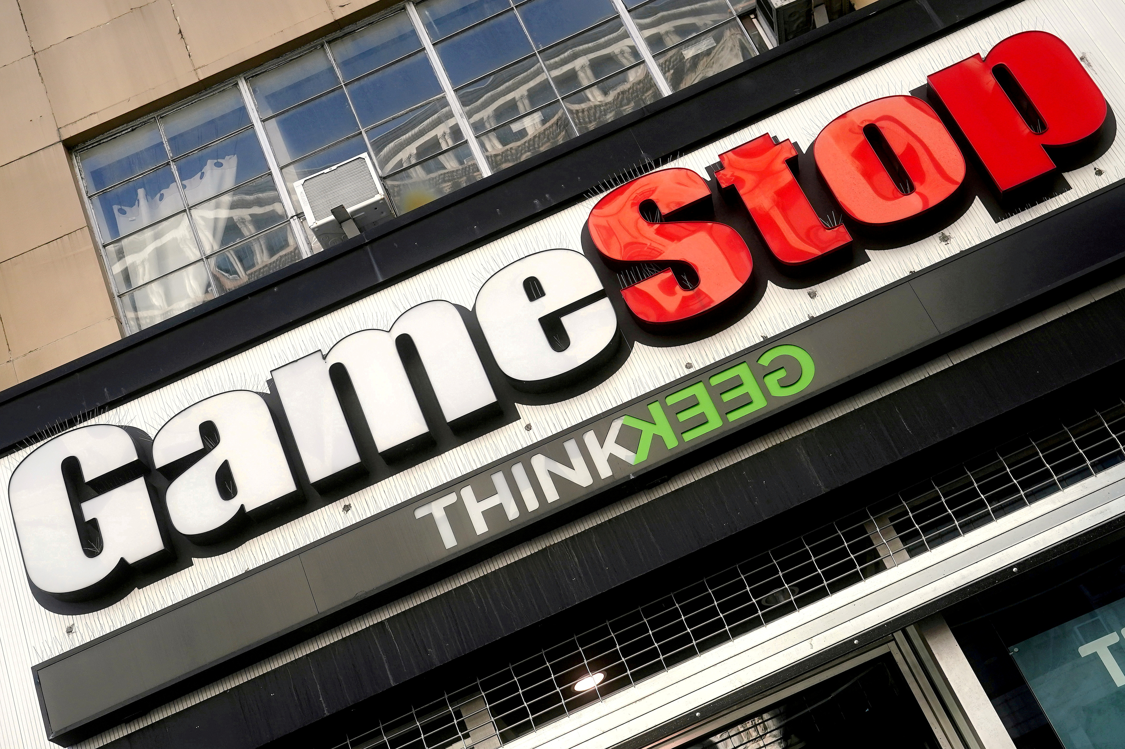 A GameStop store is pictured in the Manhattan borough of New York City, New York, U.S., January 29, 2021. REUTERS/Carlo Allegri/File Photo