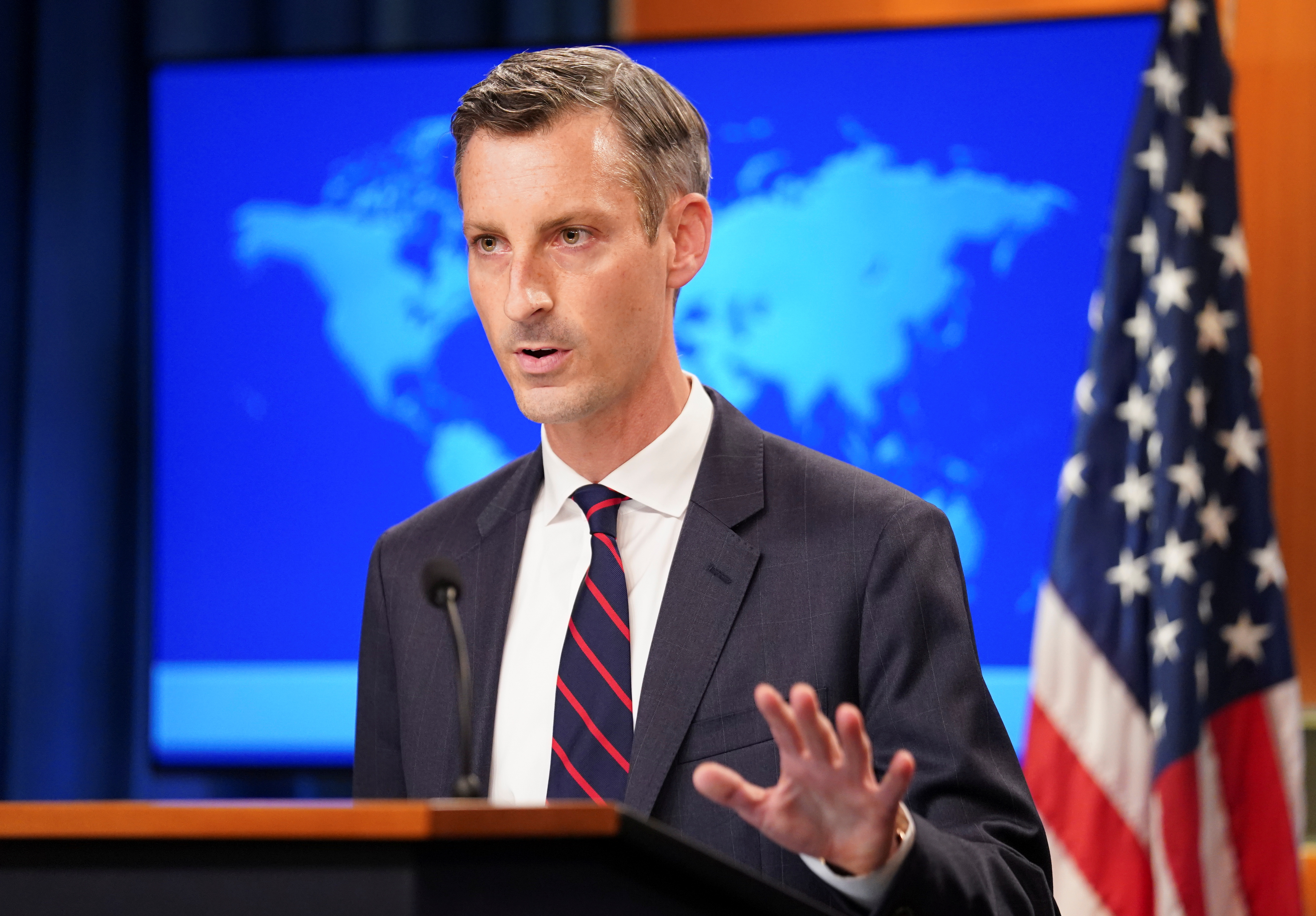 U.S. condemns Taliban's reported plan to reinstate executions, amputations