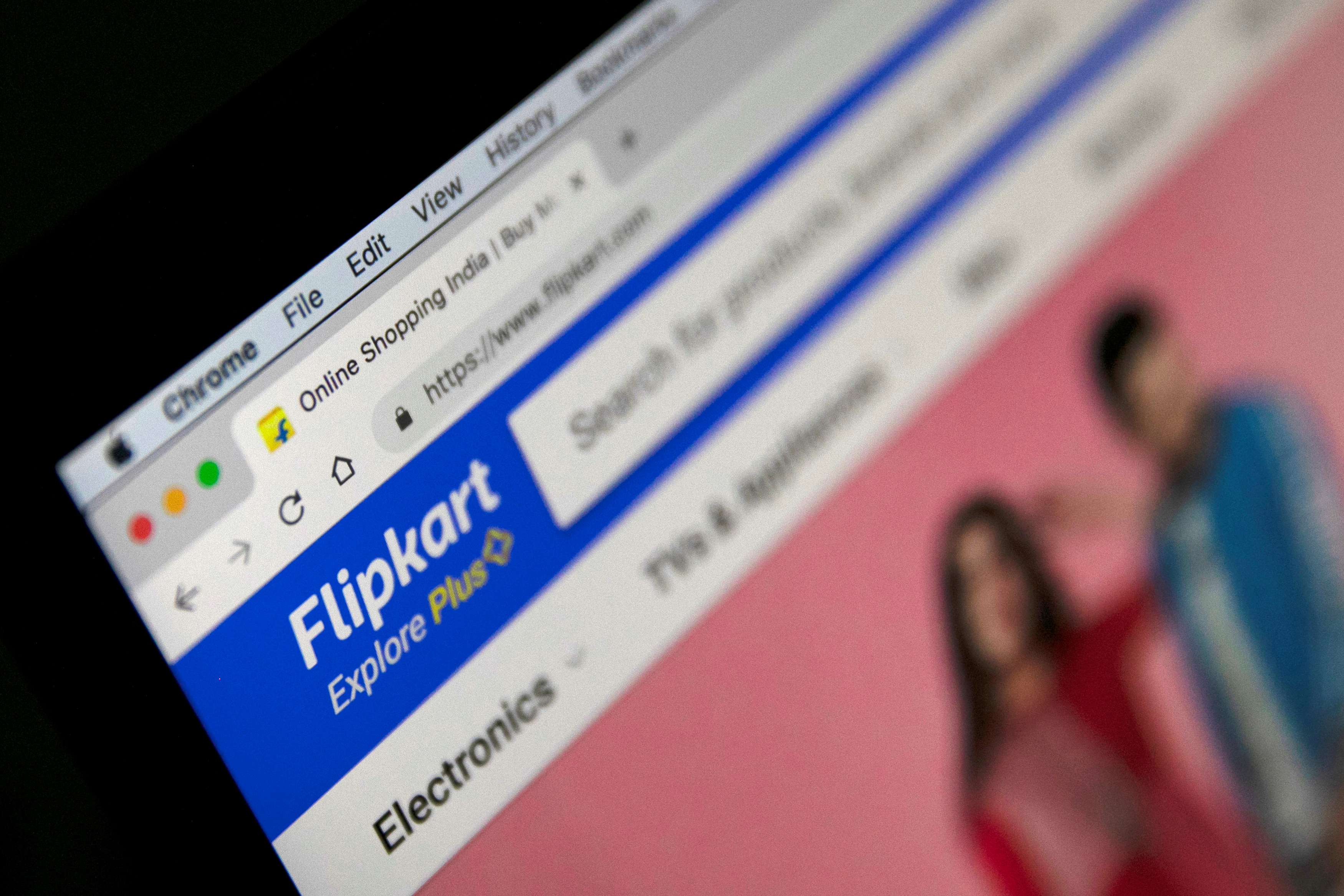 The logo of India's e-commerce firm Flipkart is seen in this illustration picture taken January 29, 2019. REUTERS/Danish Siddiqui/Illustration/File photo