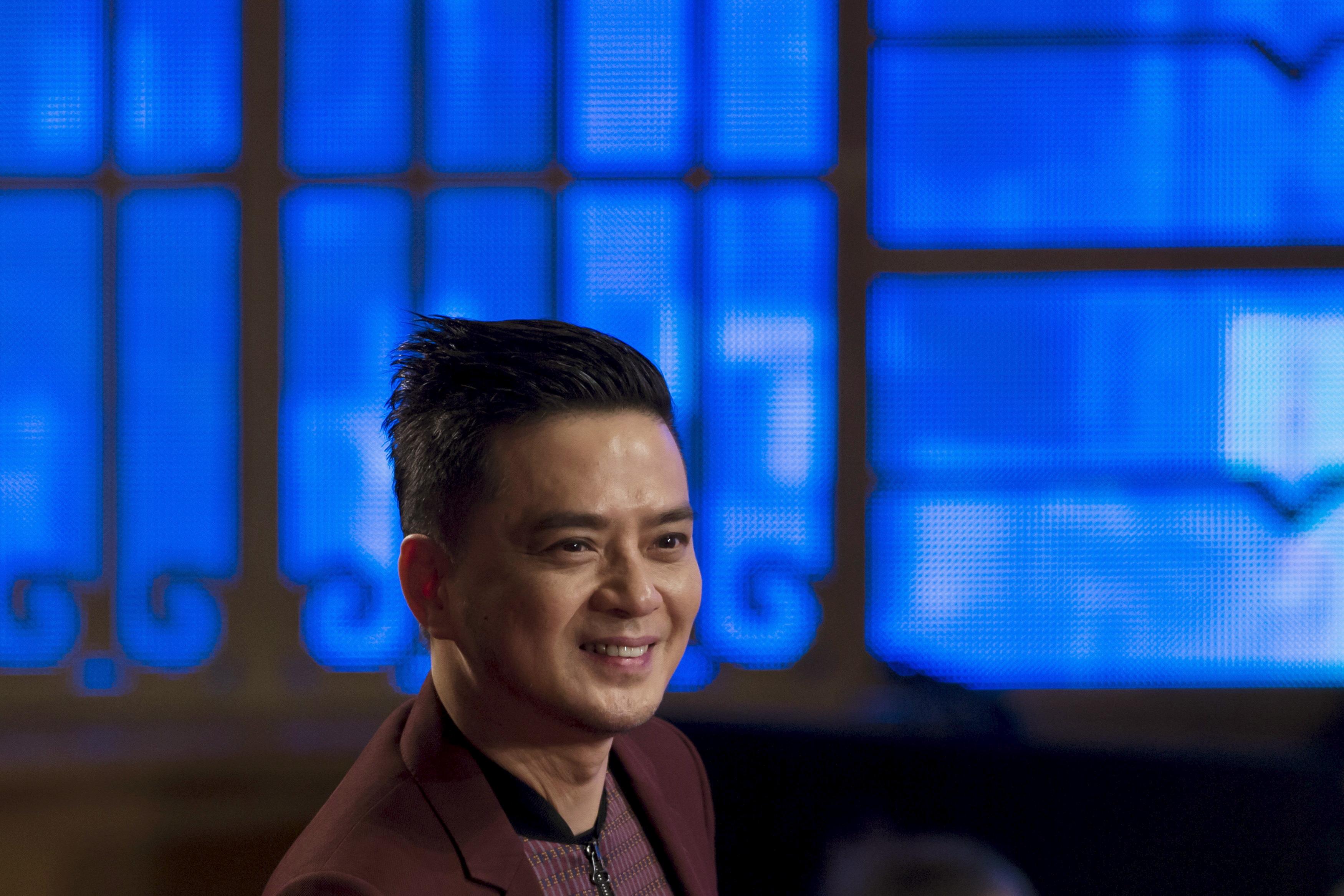 Hong Kong singer Anthony Wong Yiu-Ming attends the Hong Kong Film Awards April 19, 2015. REUTERS/Tyrone Siu
