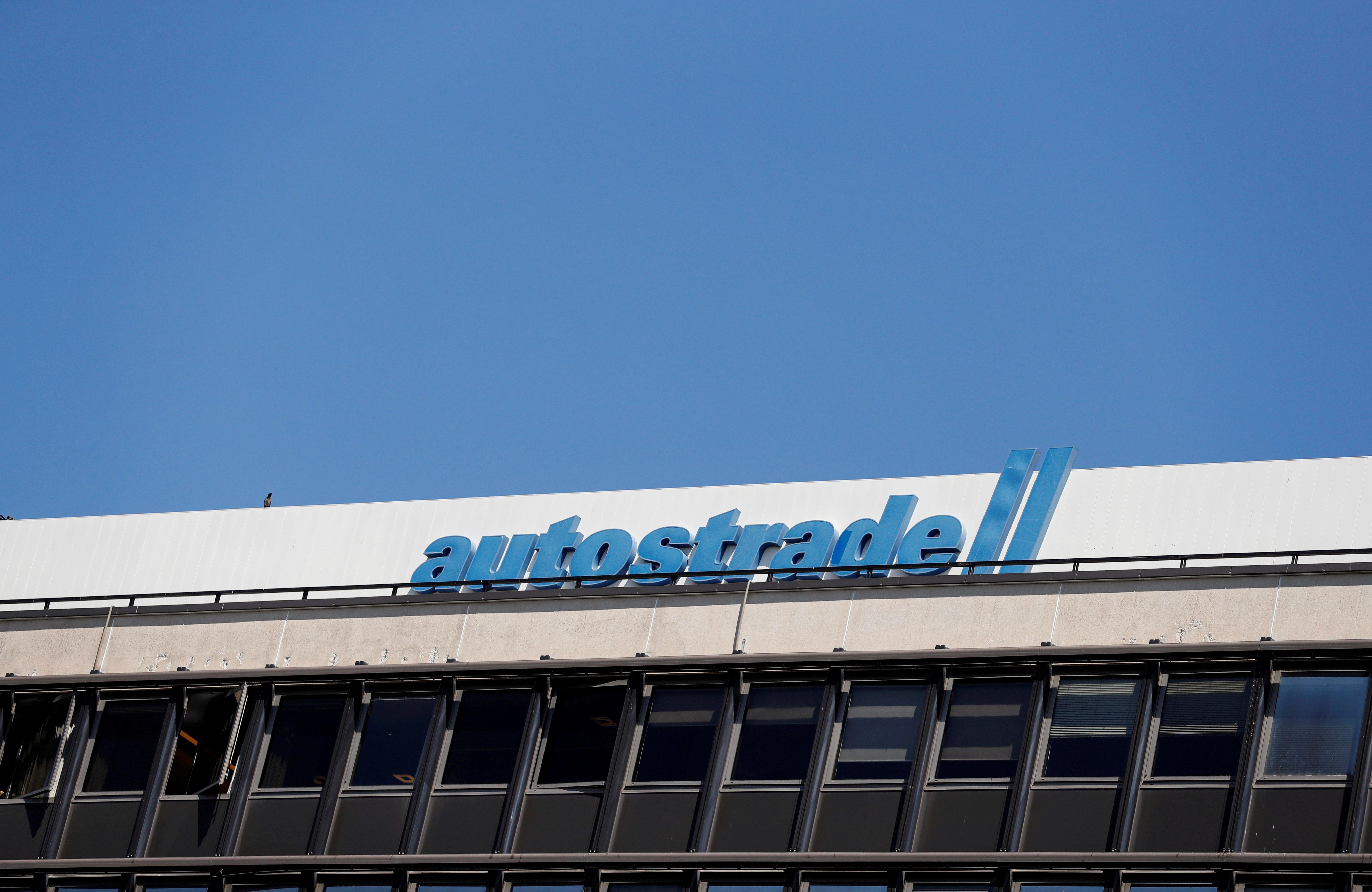 A view of the Autostrade per l'Italia headquarters in Rome, Italy, July 21, 2020. REUTERS/Yara Nardi/File Photo/File Photo