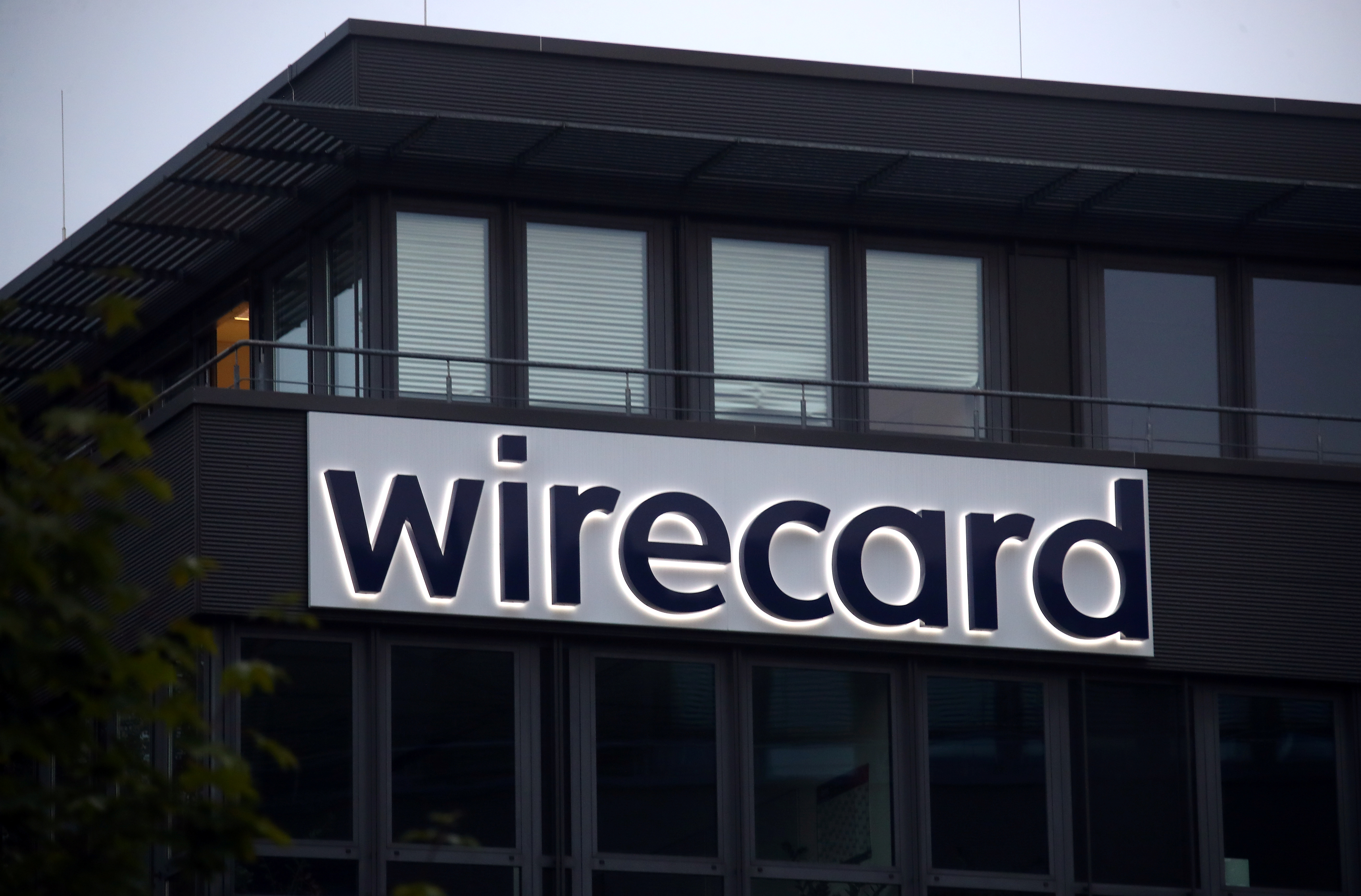 The headquarters of Wirecard AG, an independent provider of outsourcing and white label solutions for electronic payment transactions is seen in Aschheim near Munich, Germany, September 22, 2020. REUTERS/Michael Dalder