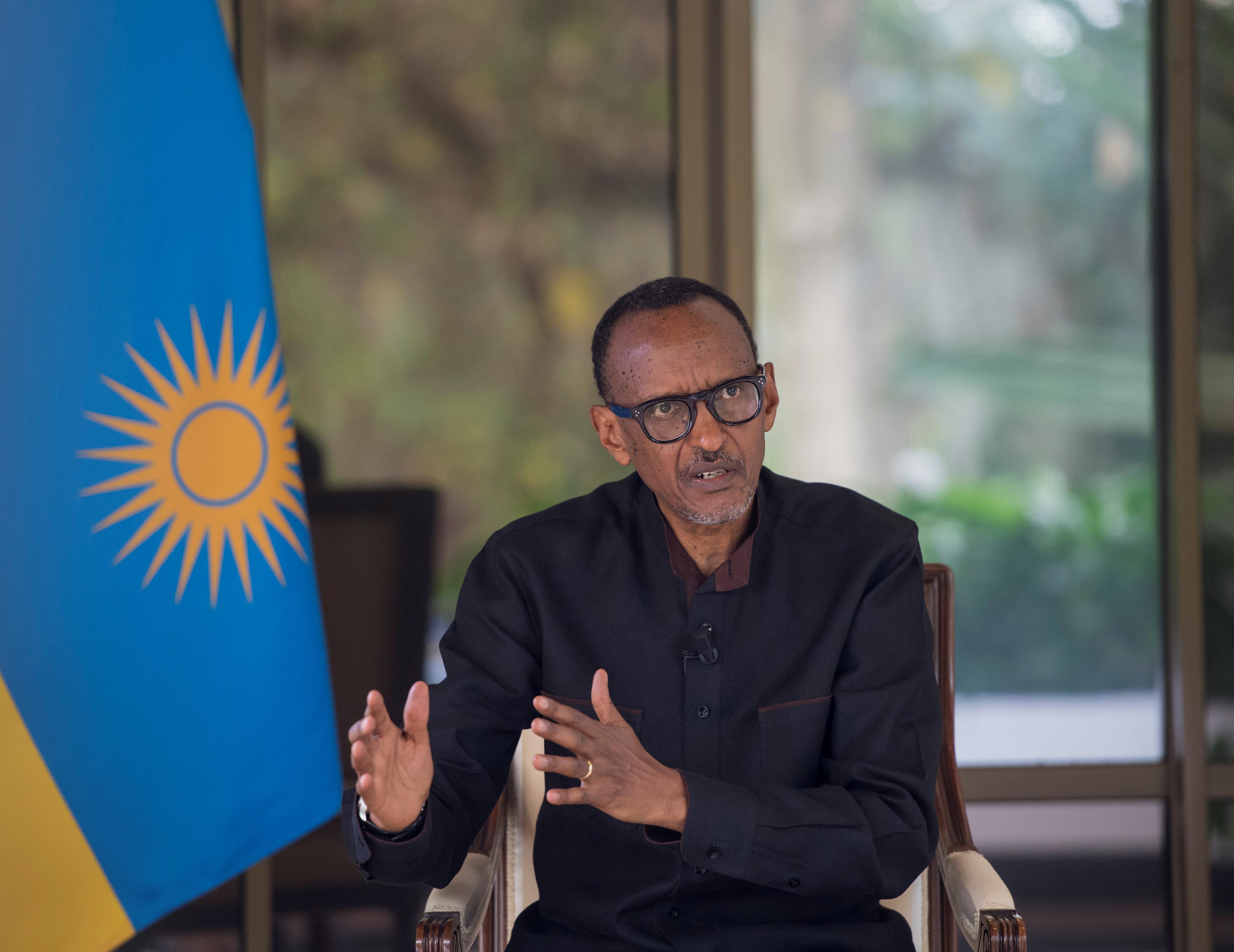 Rwanda's President Paul Kagame. President Communications Office/Handout via REUTERS
