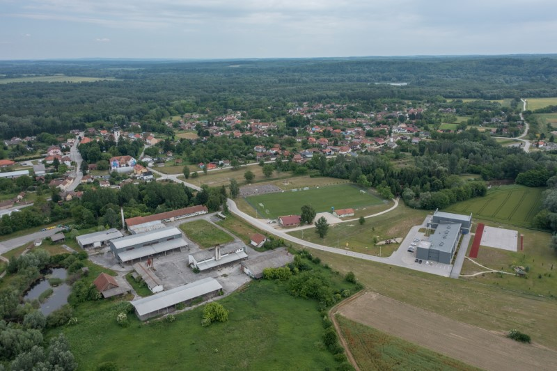 General view of village Legrad, Croatia, June 10, 2021. REUTERS/Antonio Bronic