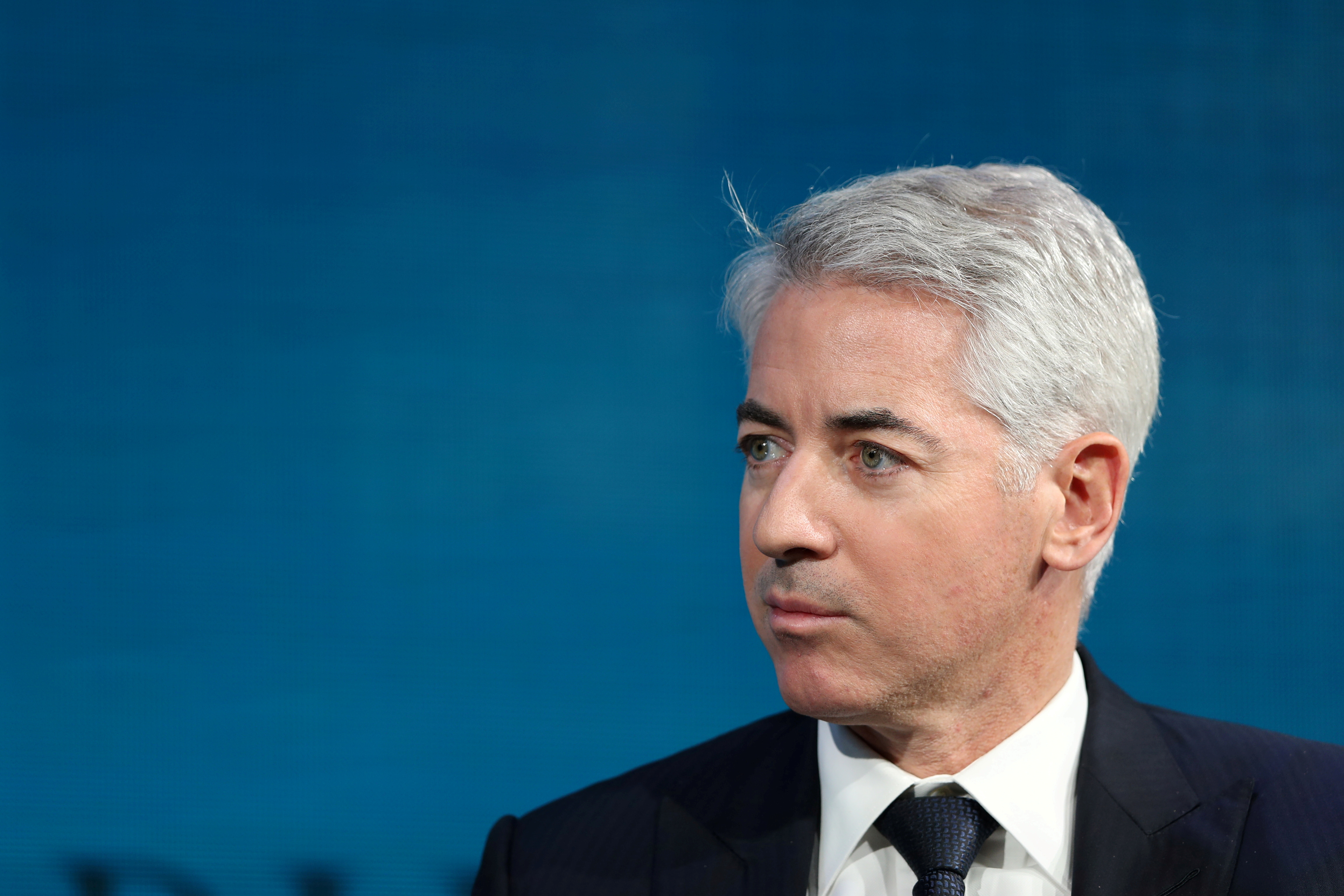 Bill Ackman, CEO of Pershing Square Capital, speaks at the Wall Street Journal Digital Conference in Laguna Beach, California, U.S., October 17, 2017. REUTERS/Mike Blake/File Photo