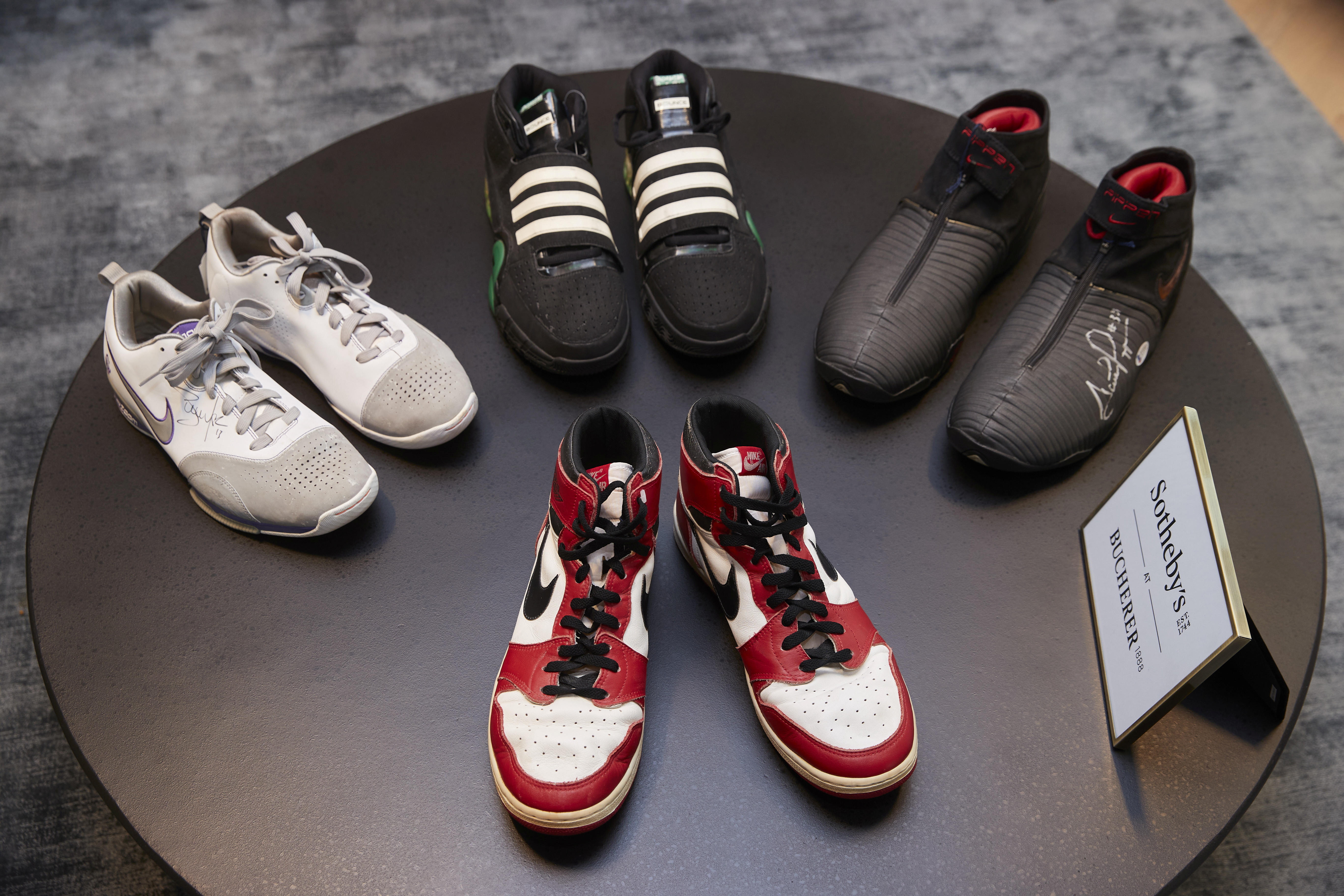 Sneakers from Michael Jordan's rookie season up for sale at ...