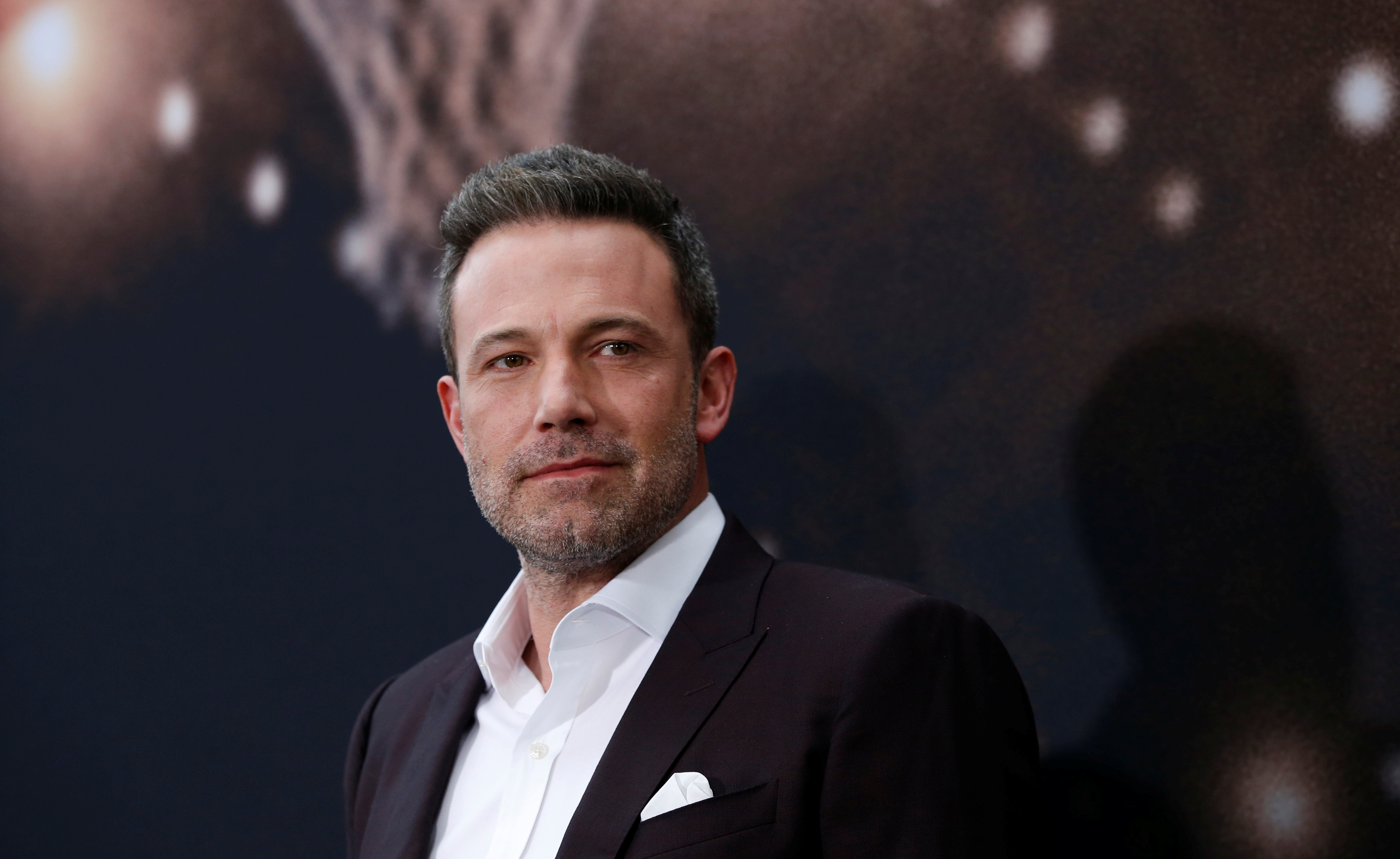 Cast member Ben Affleck poses at the premiere for the film