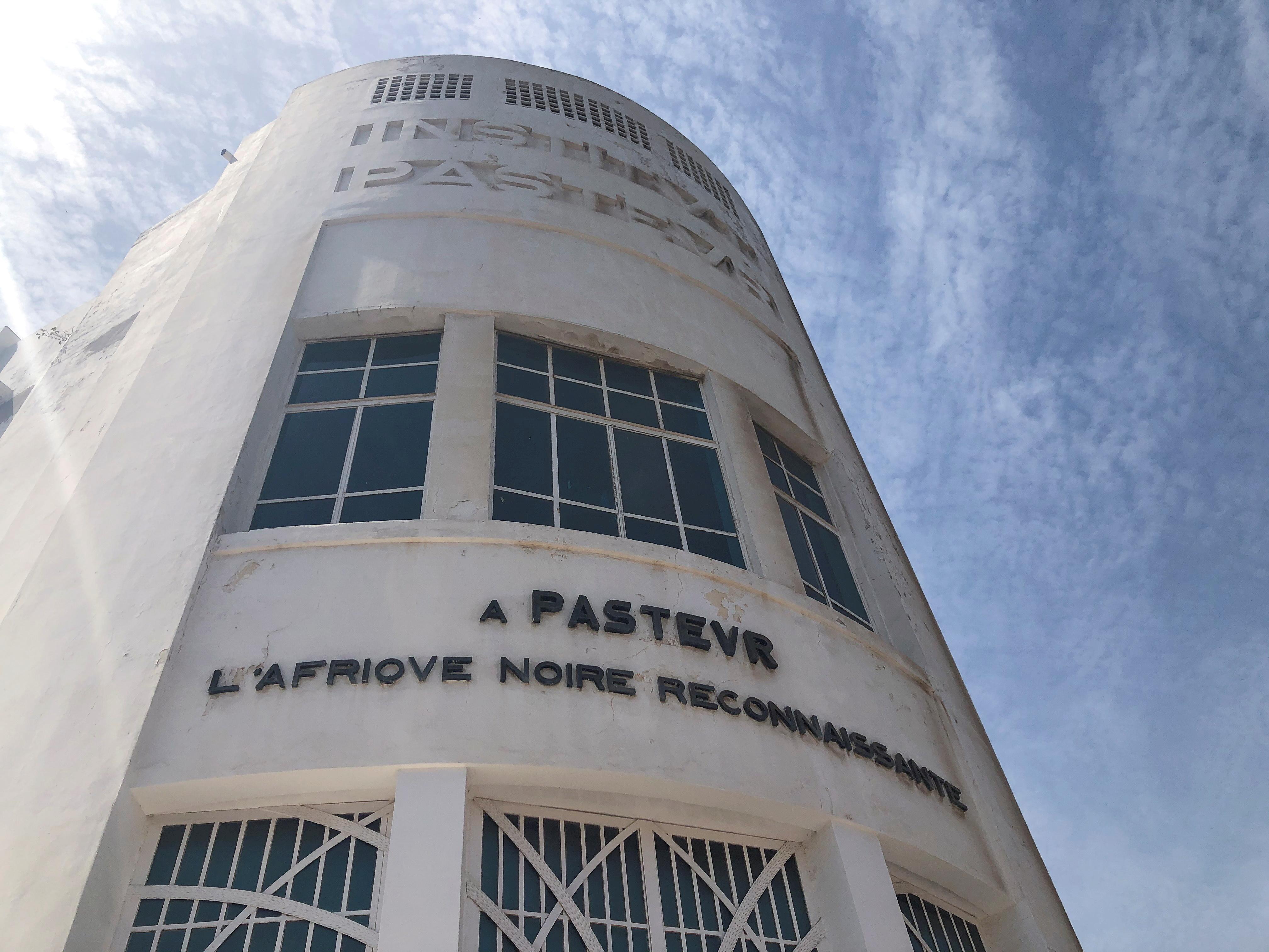 A view of the Pasteur Institute building in Dakar, Senegal March 2, 2020. REUTERS/Christophe Van Der Perre